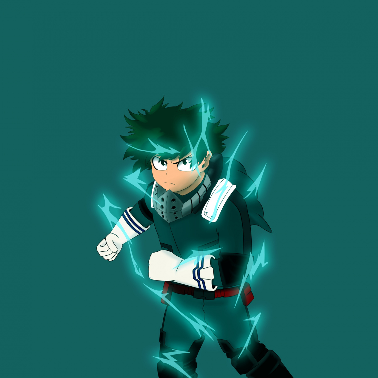 artwork izuku midoriya