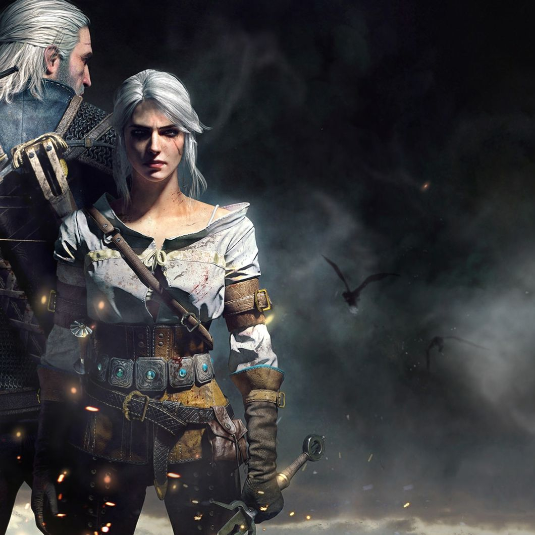 witcher 3 dual monitor wallpapers