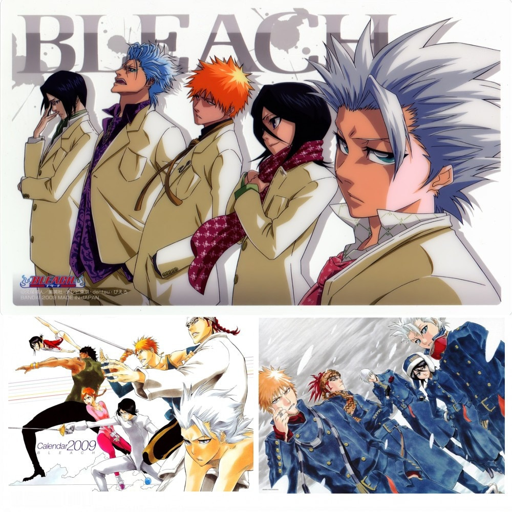 Cartoon Anime Movie BLEACH Poster Wall Stickers White Coated Paper Prints High Definition Livingroom Bedroom Bar