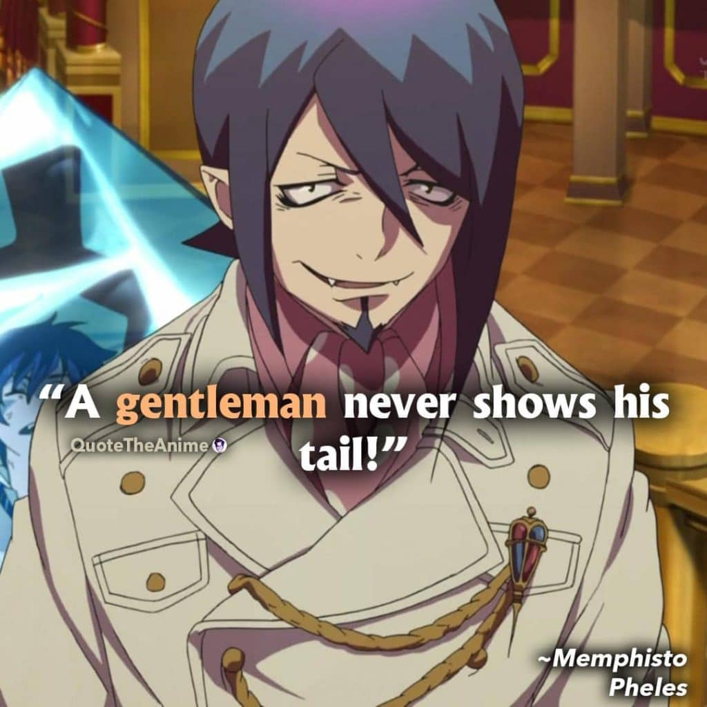 Blue Exorcist Quotes Memphisto Pheles Quots 1024x1024