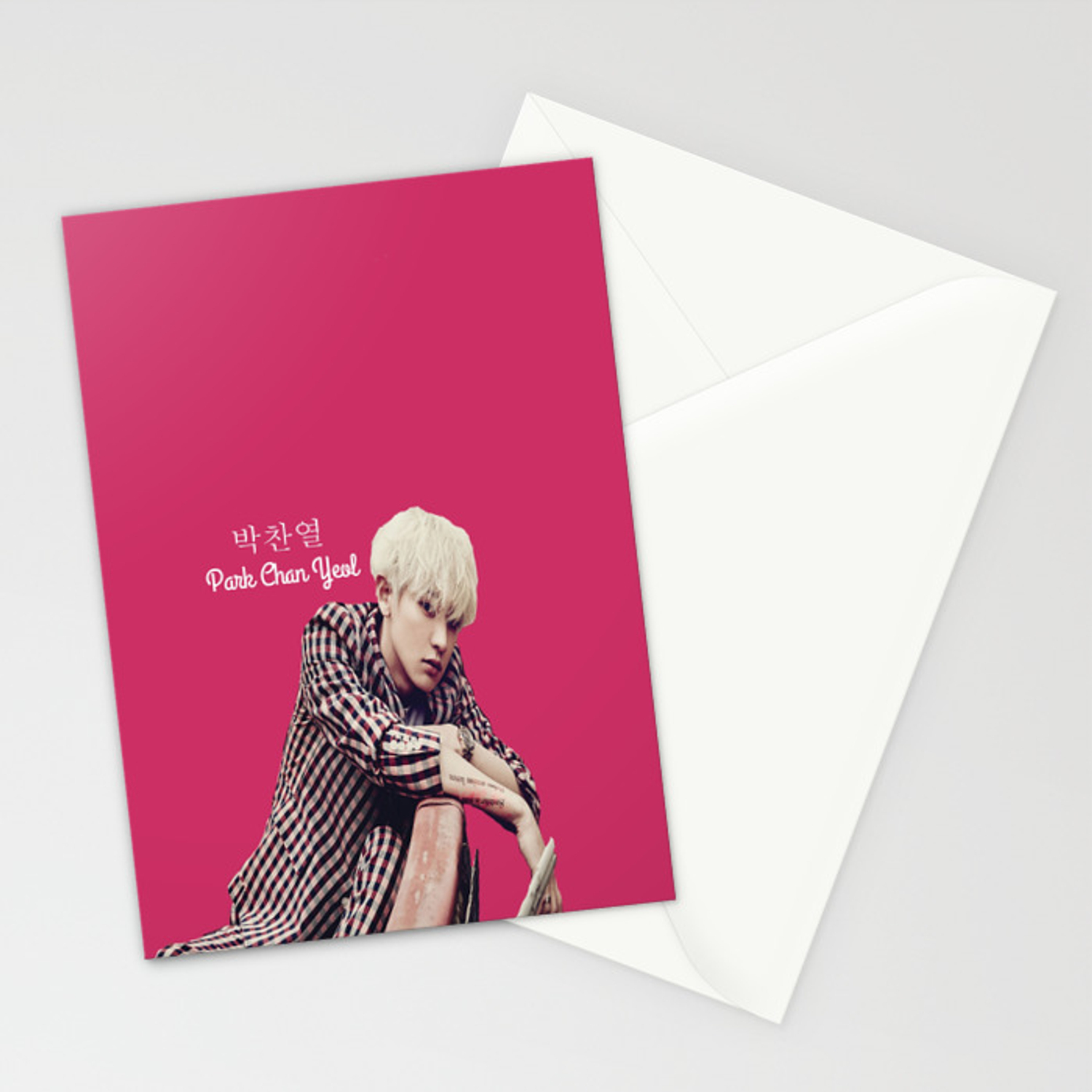 exo chanyeol love me right cards
