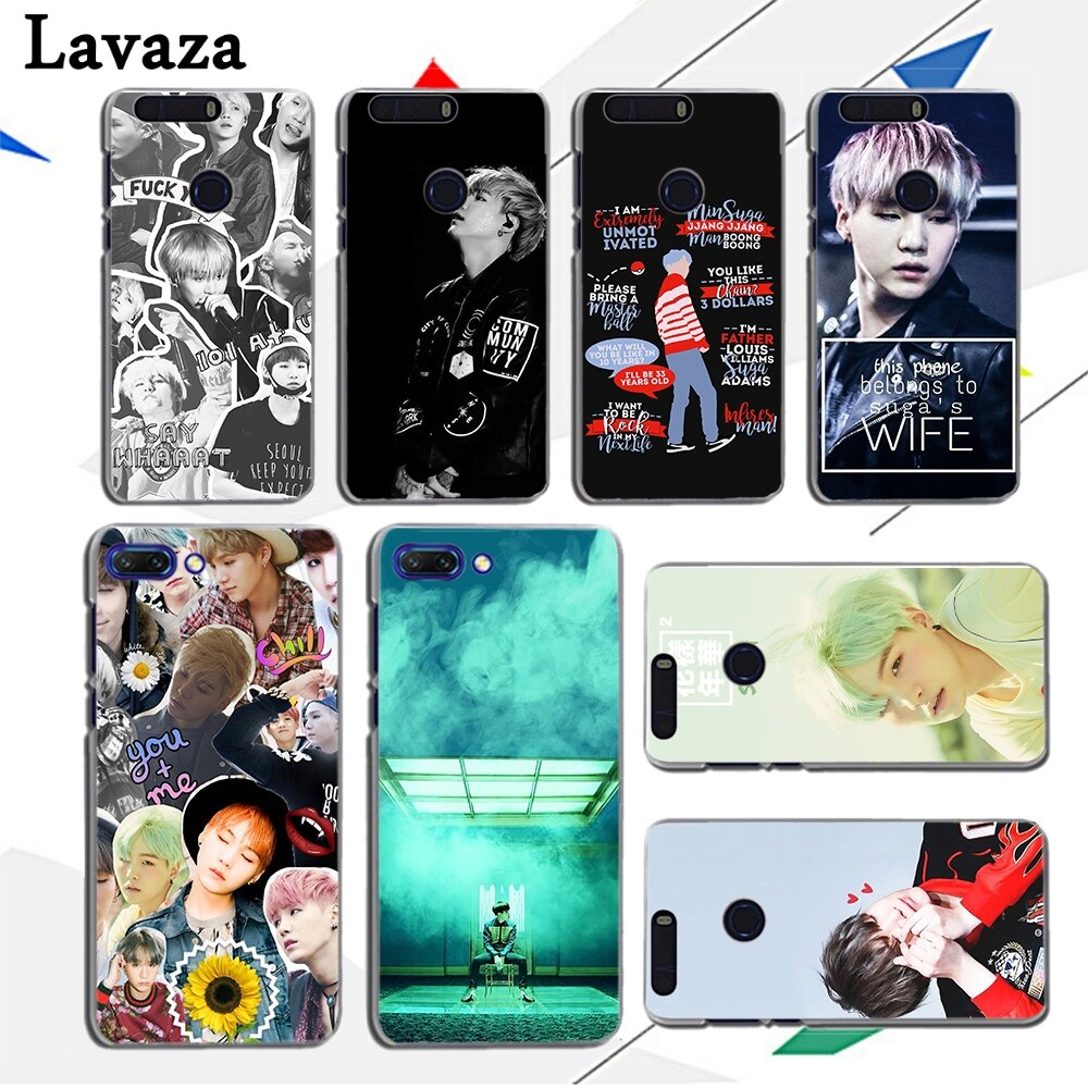 Lavaza min yoongi wallpaper Hard Cover Case for Huawei Honor Play 10 9 8X 8 lite