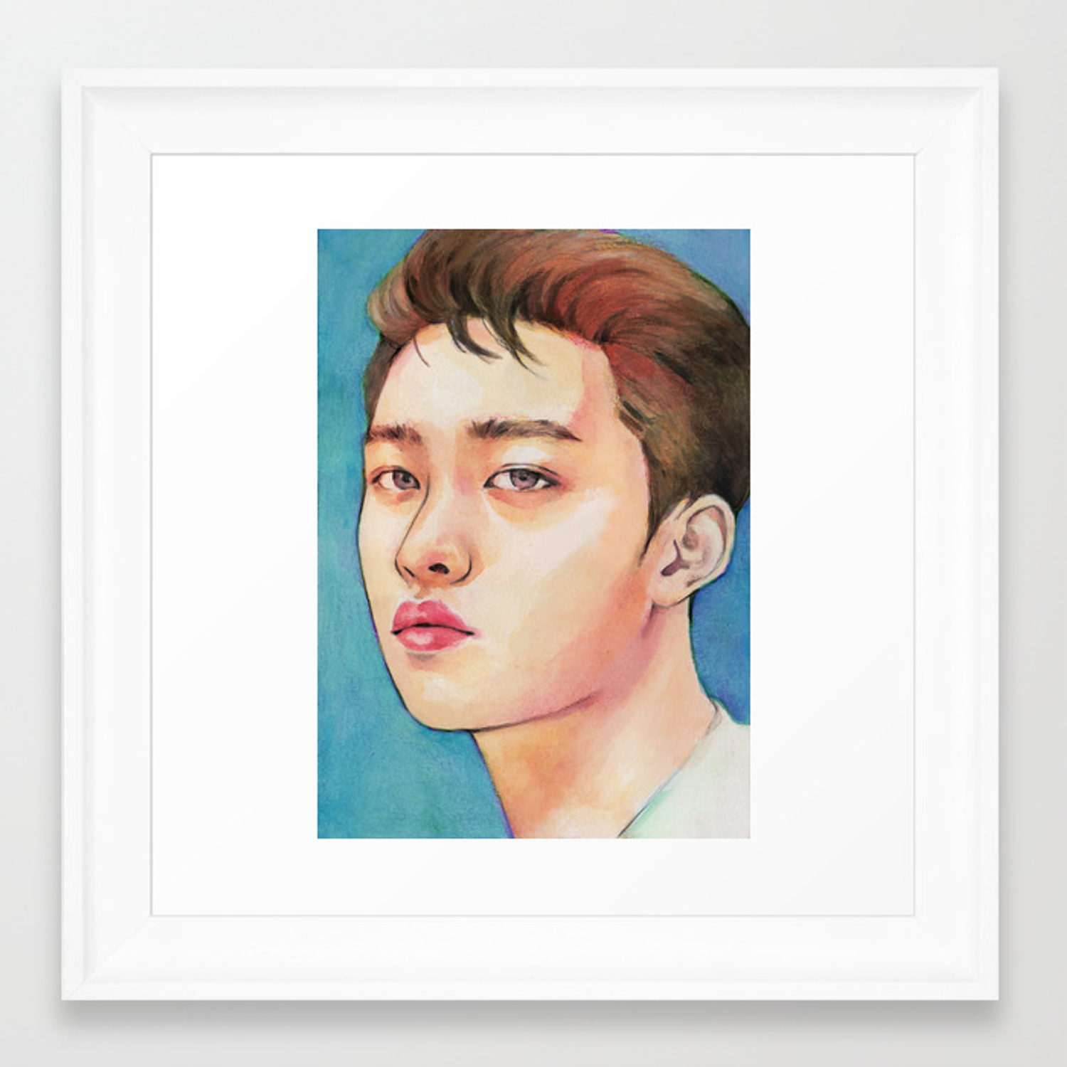 exo kokobop do framed print