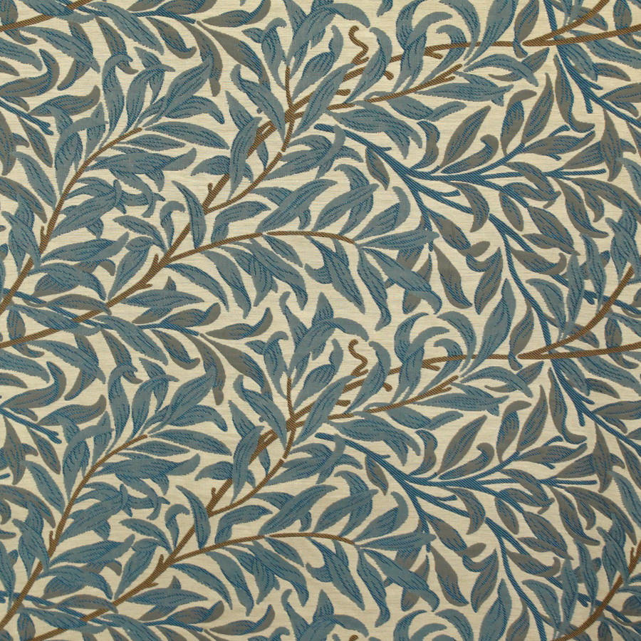 hxmRTb william morris sanderson blue tapestry fabric bay vintage
