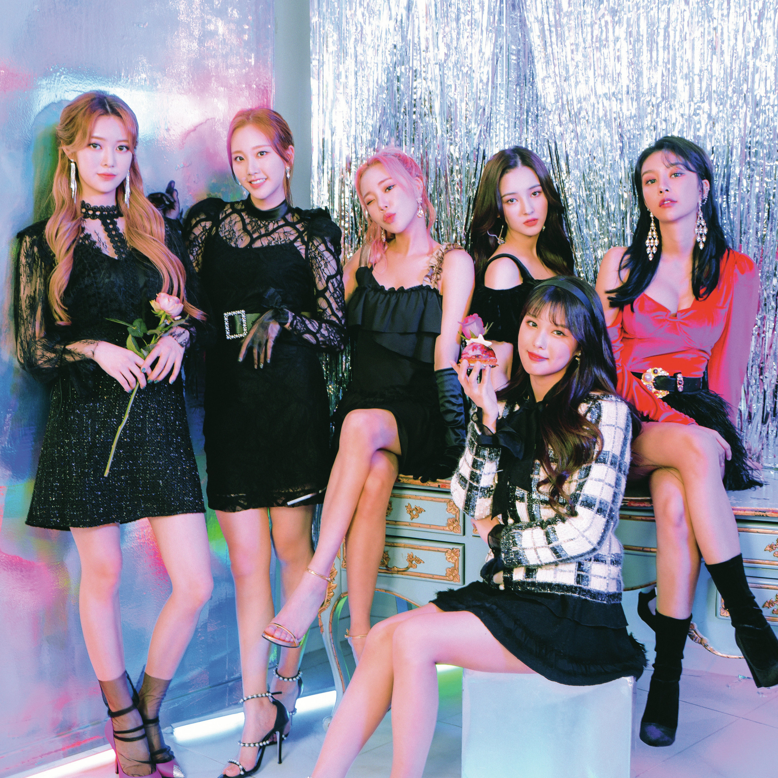 momoland starry night concept all group