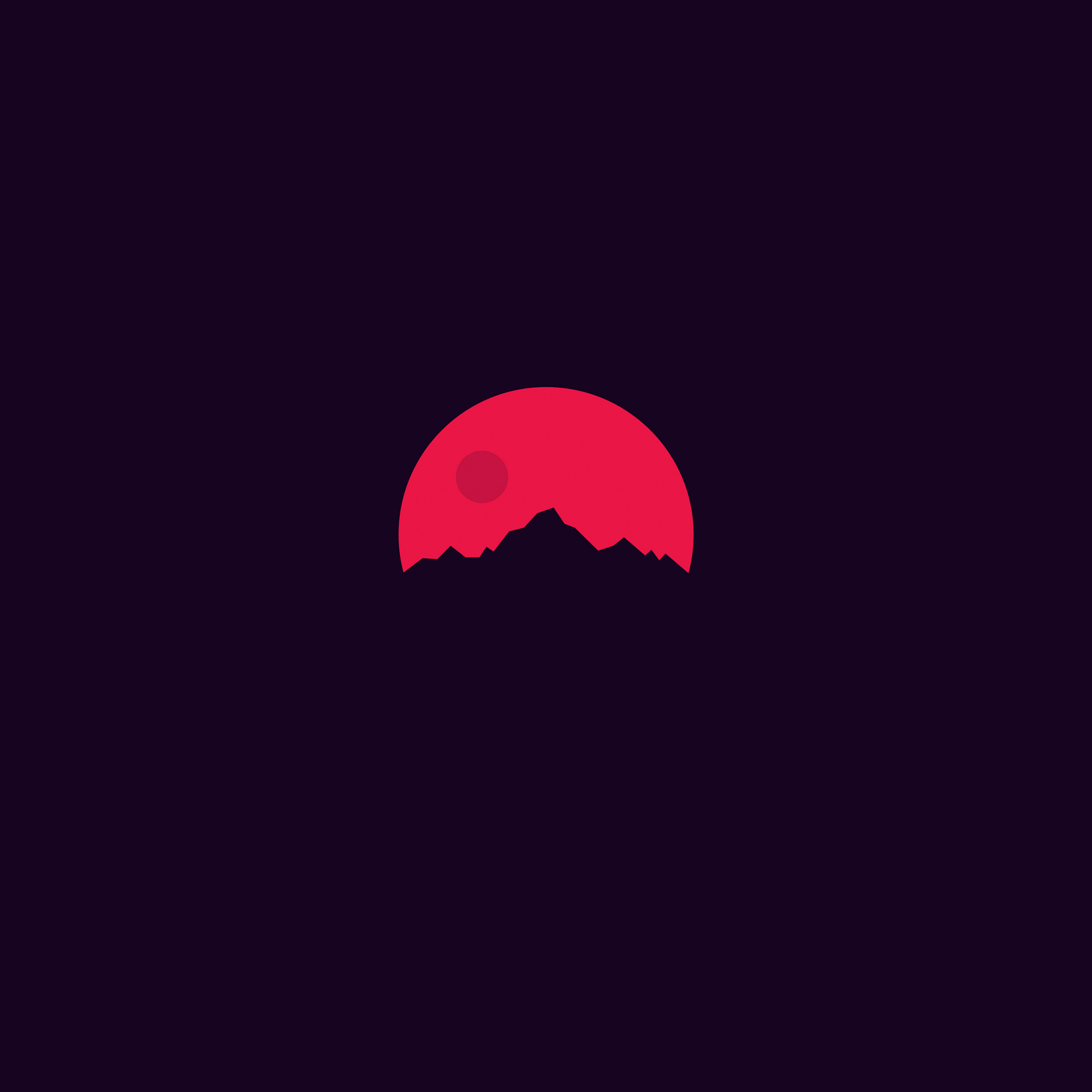 papers ar12 minimal sunset art illustration 40 wallpaper