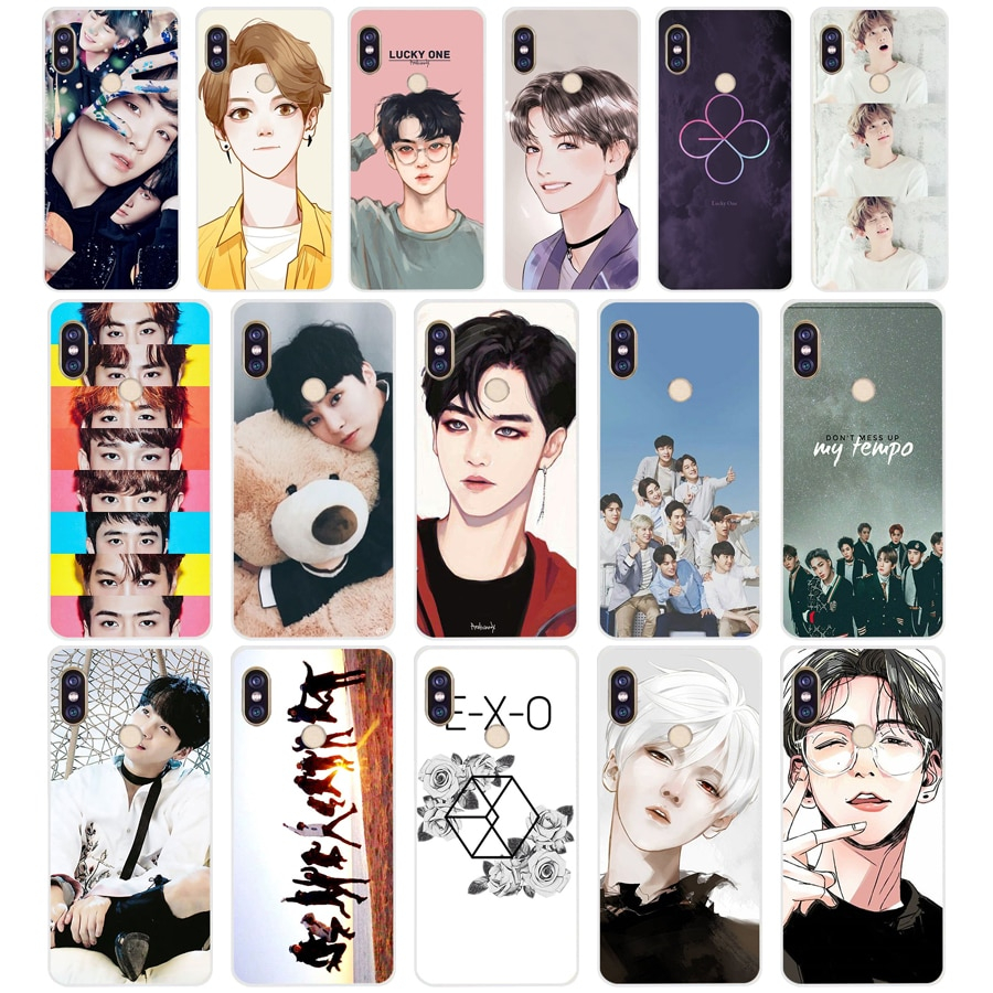 148 ZX Kpop exo Lucky one TPU Soft Silicone Phone Case for Xiaomi Redmi Note 4