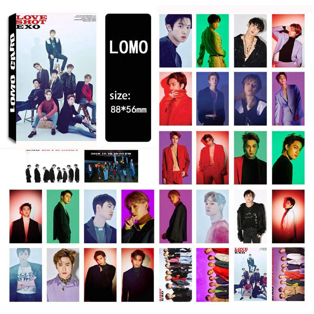 youyouchard kpop exo dont mess up my tempo photo postcard support lomo cards set t for fans 30 pcs or 32 pcs 2 exo