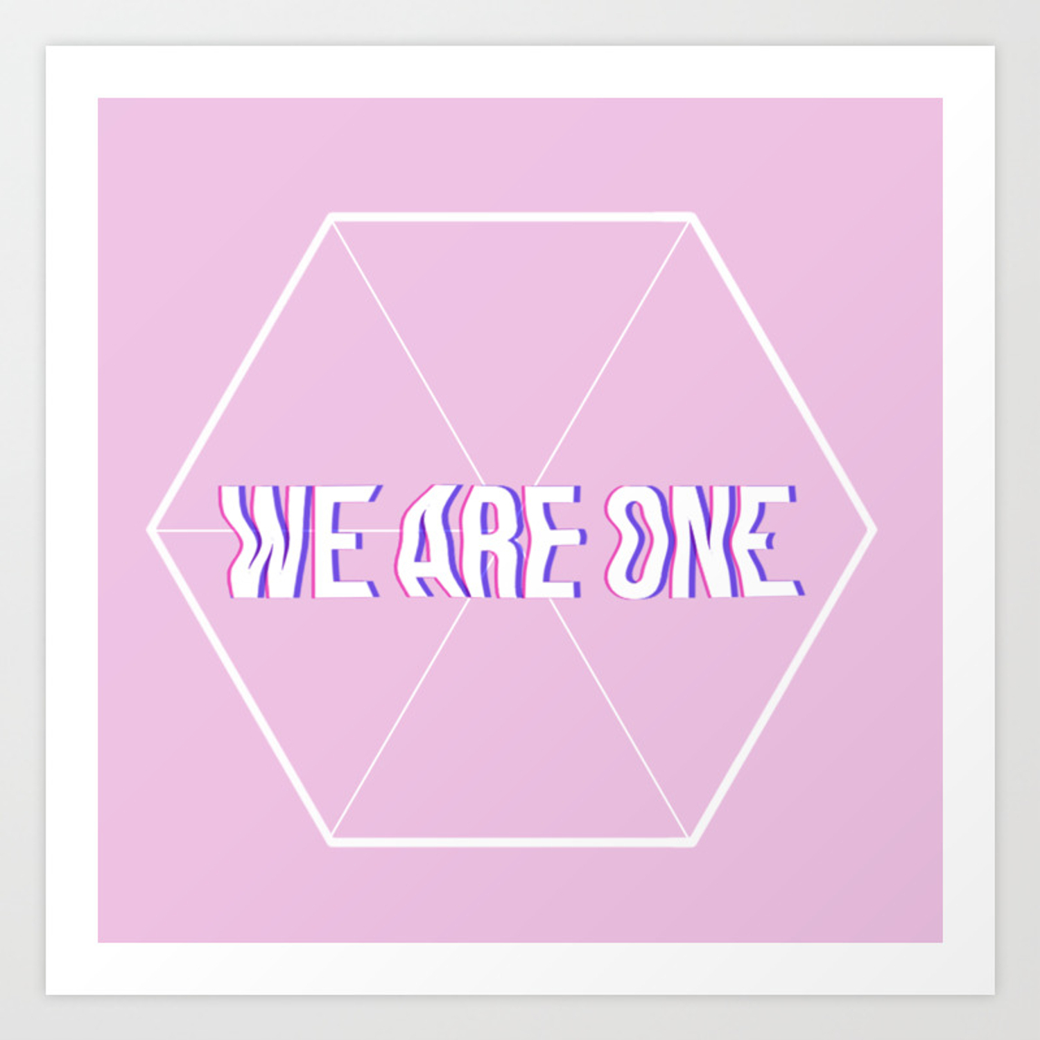 exo we are one print