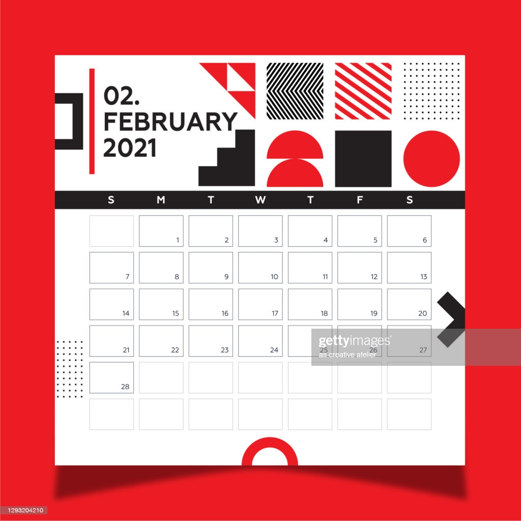 calendar 2021 year template day planner in this minimalist 2021 vector id