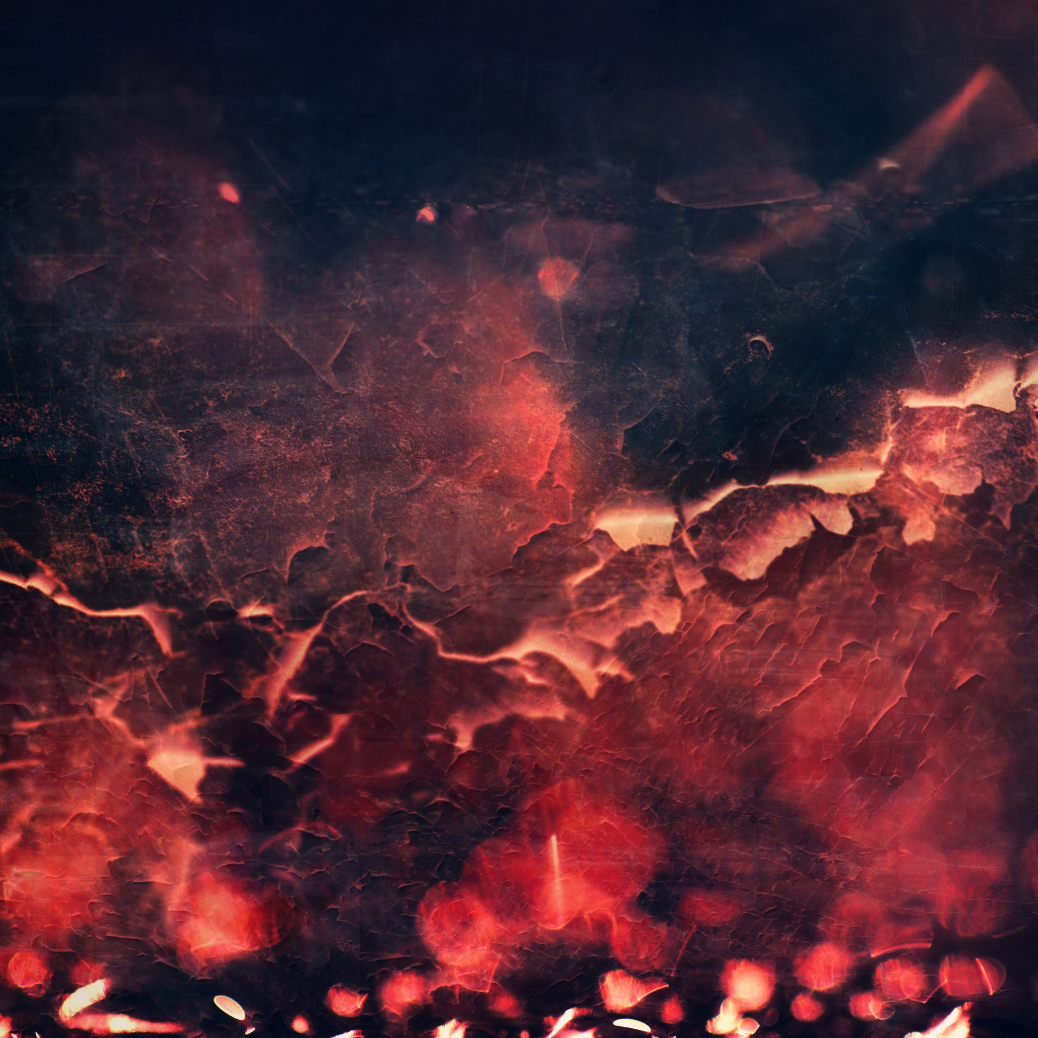 red abstract fire texture 4k