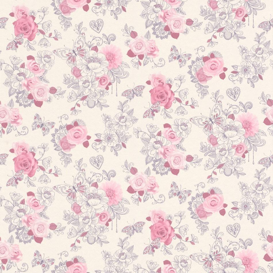 pink backgrounds patterns aesthetic