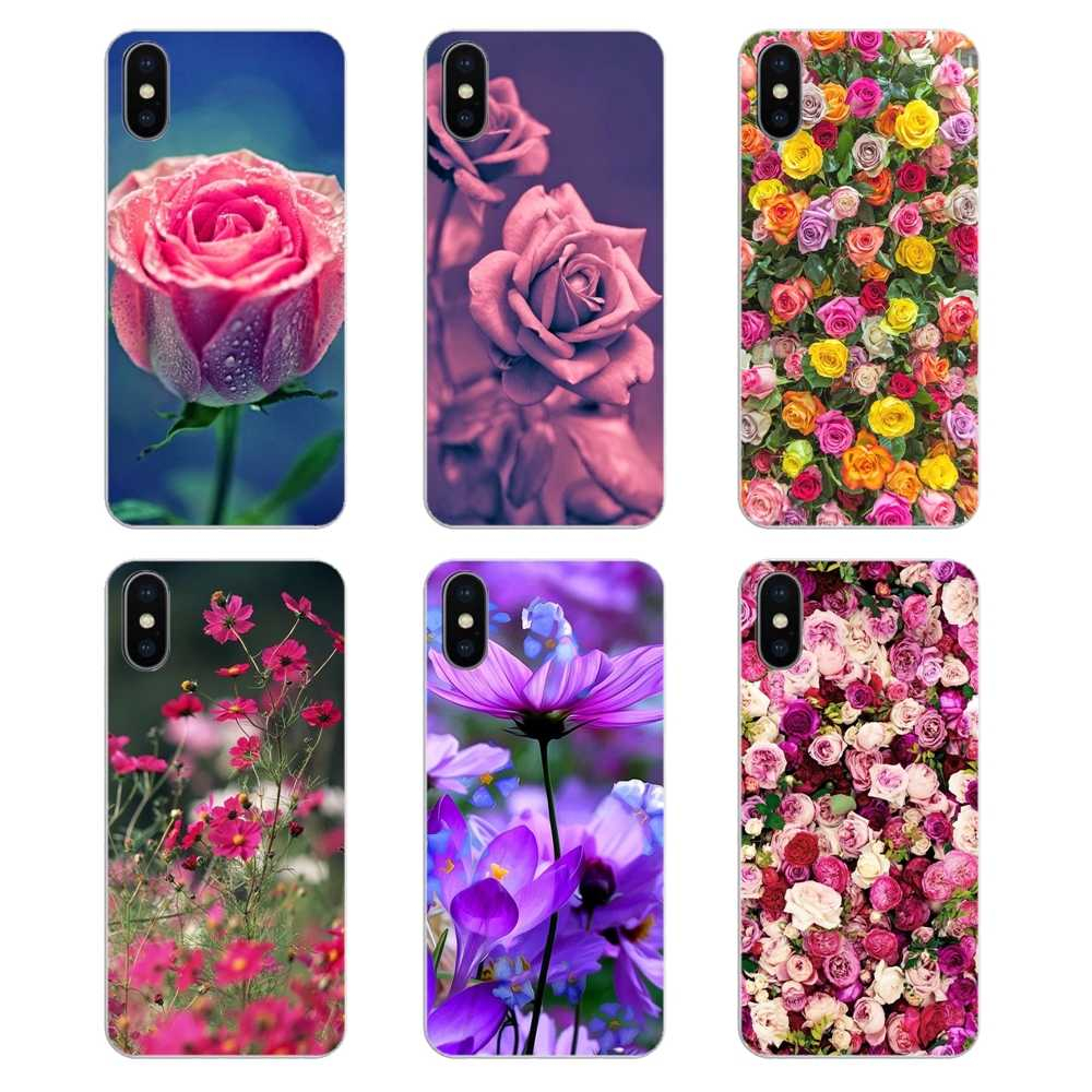 Transparent Soft Cases Covers Flowers Garden Wallpaper In Hd For iPod Touch iPhone 4 4S 5 q50