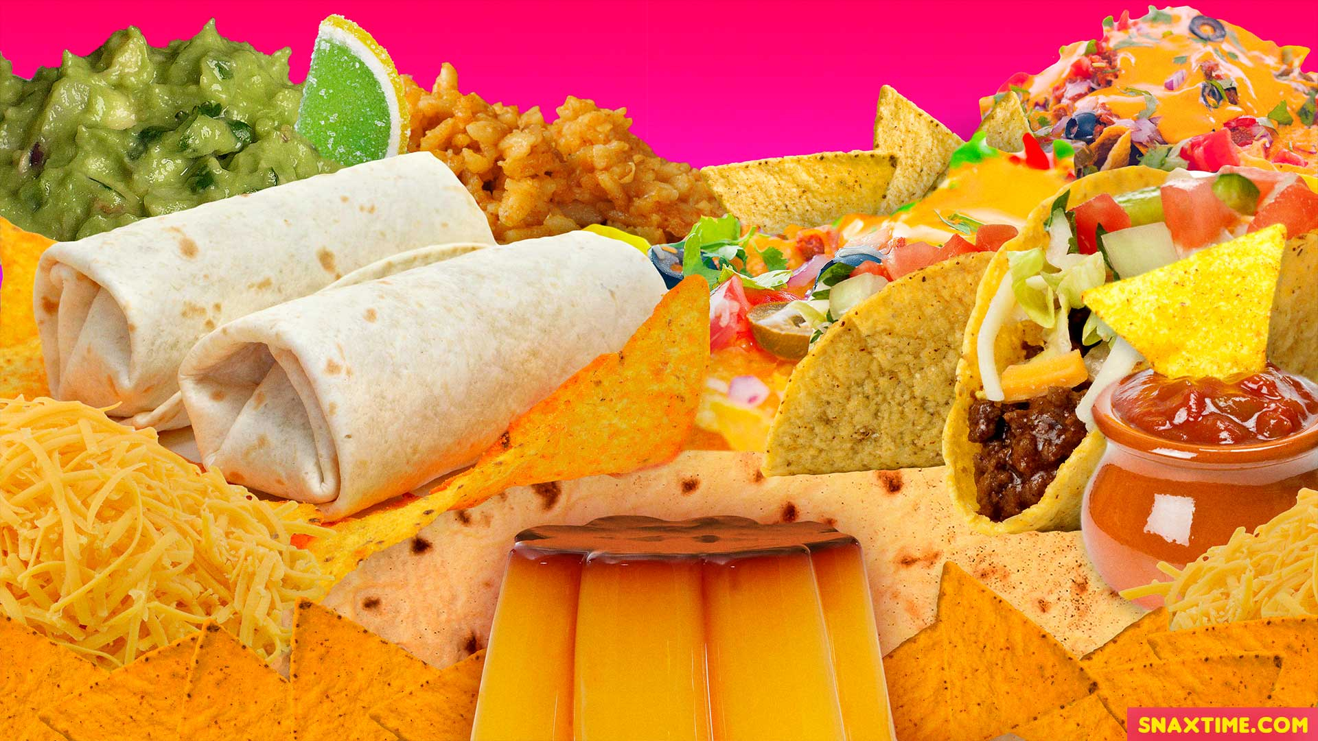 Zoom Virtual Background Snaxtime 28 Mexican Food World