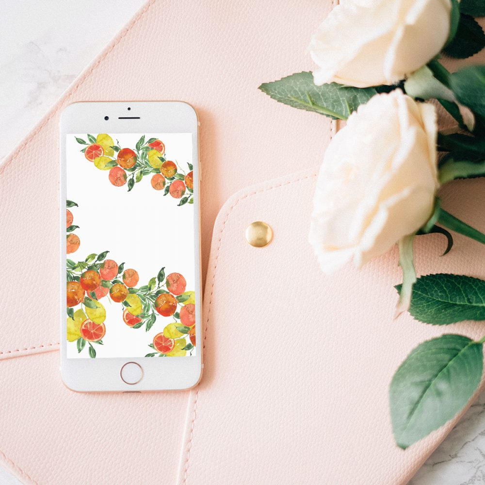 free 2018 august watercolor wallpapers