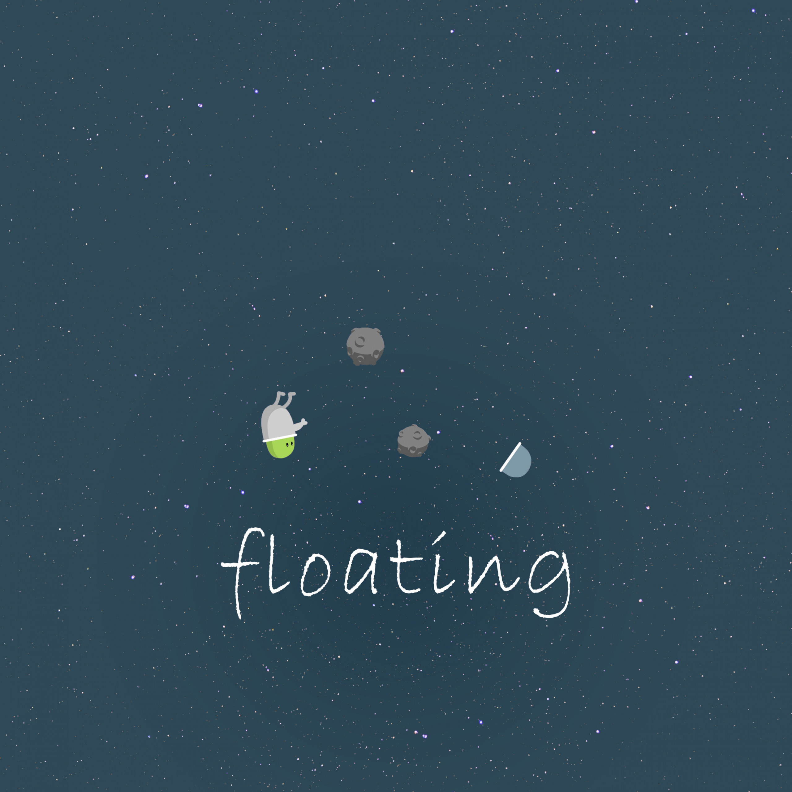 space funny minimalism pic 2932x2932