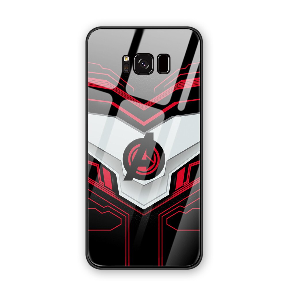 Funny Tempered Glass cover phone For Samsung S8 Retro Wallpaper phone case For Samsung Galaxy S8