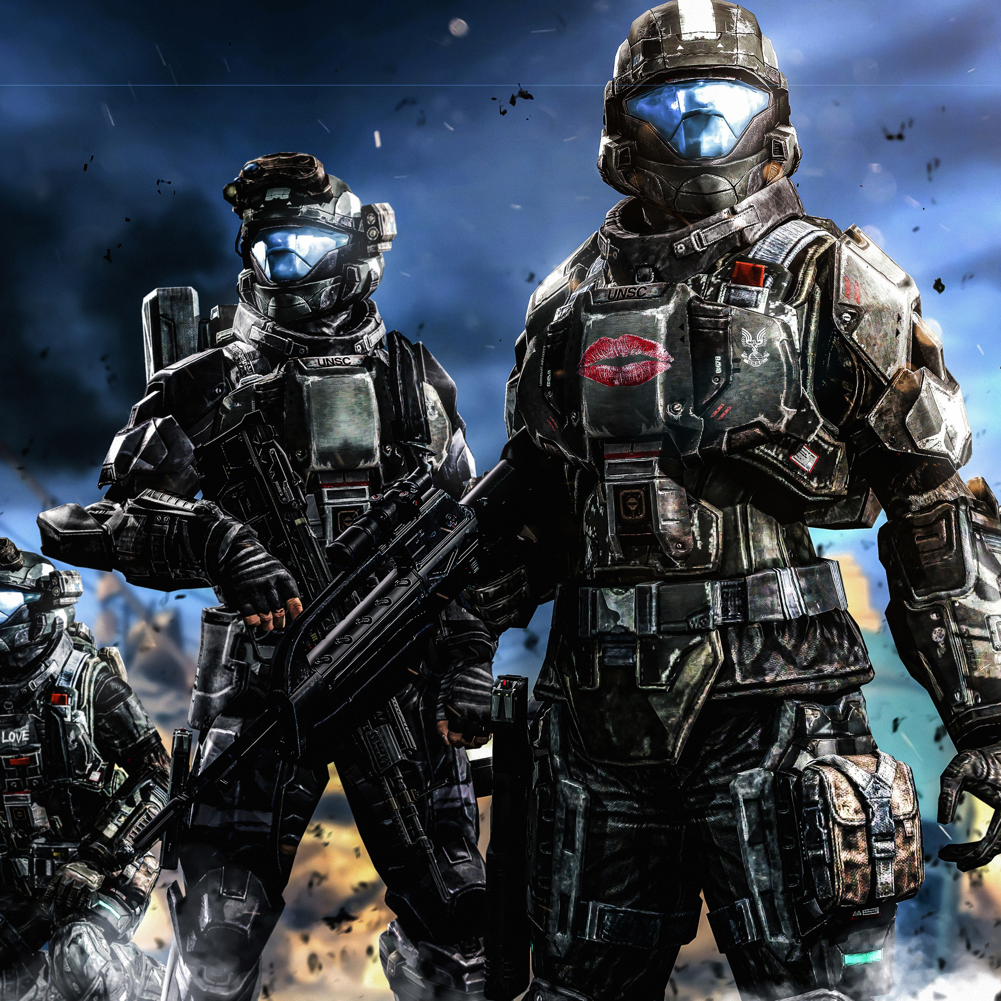 halo warriors weapons armors sol rs 4k