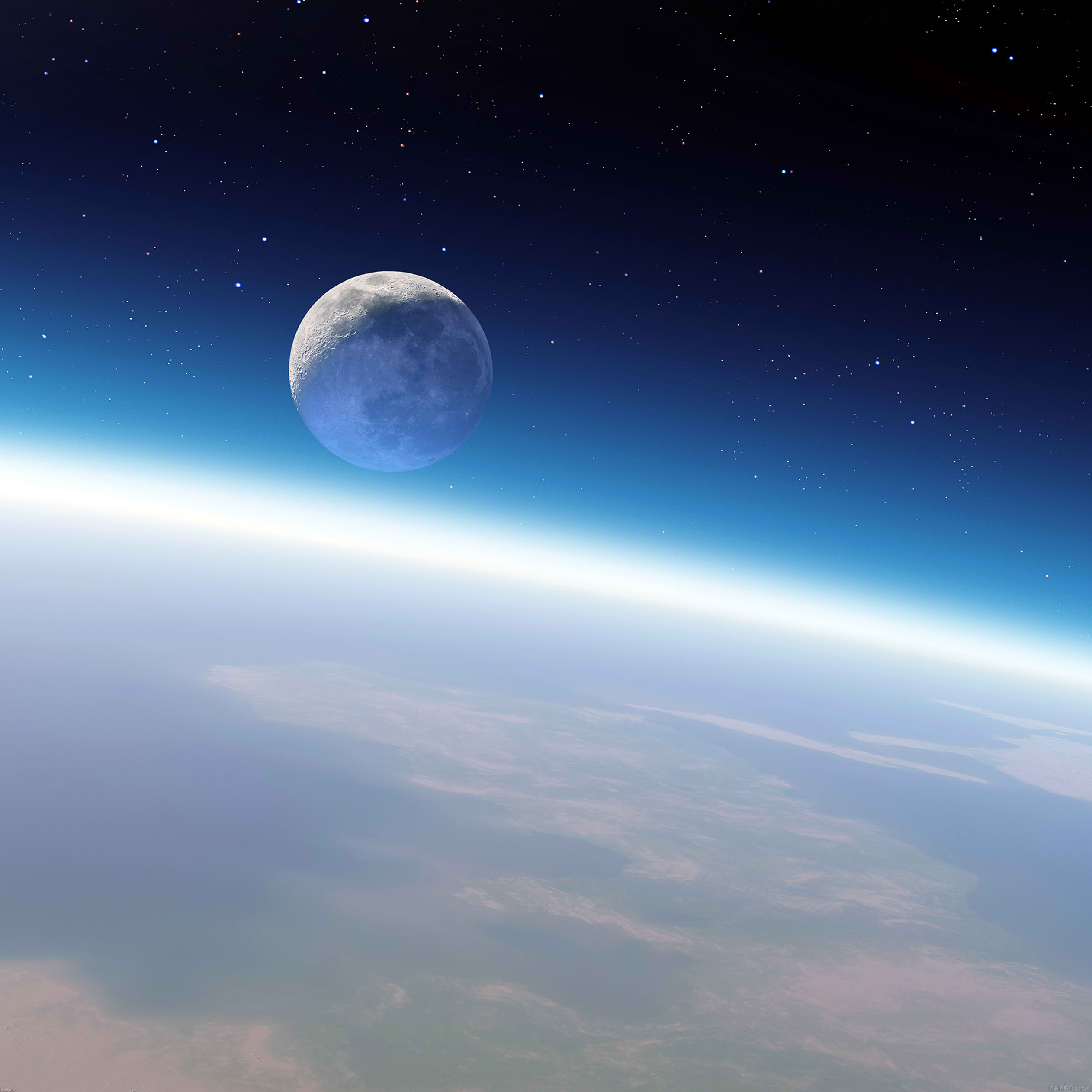 wallpaper earth and moon space 9 wallpaper