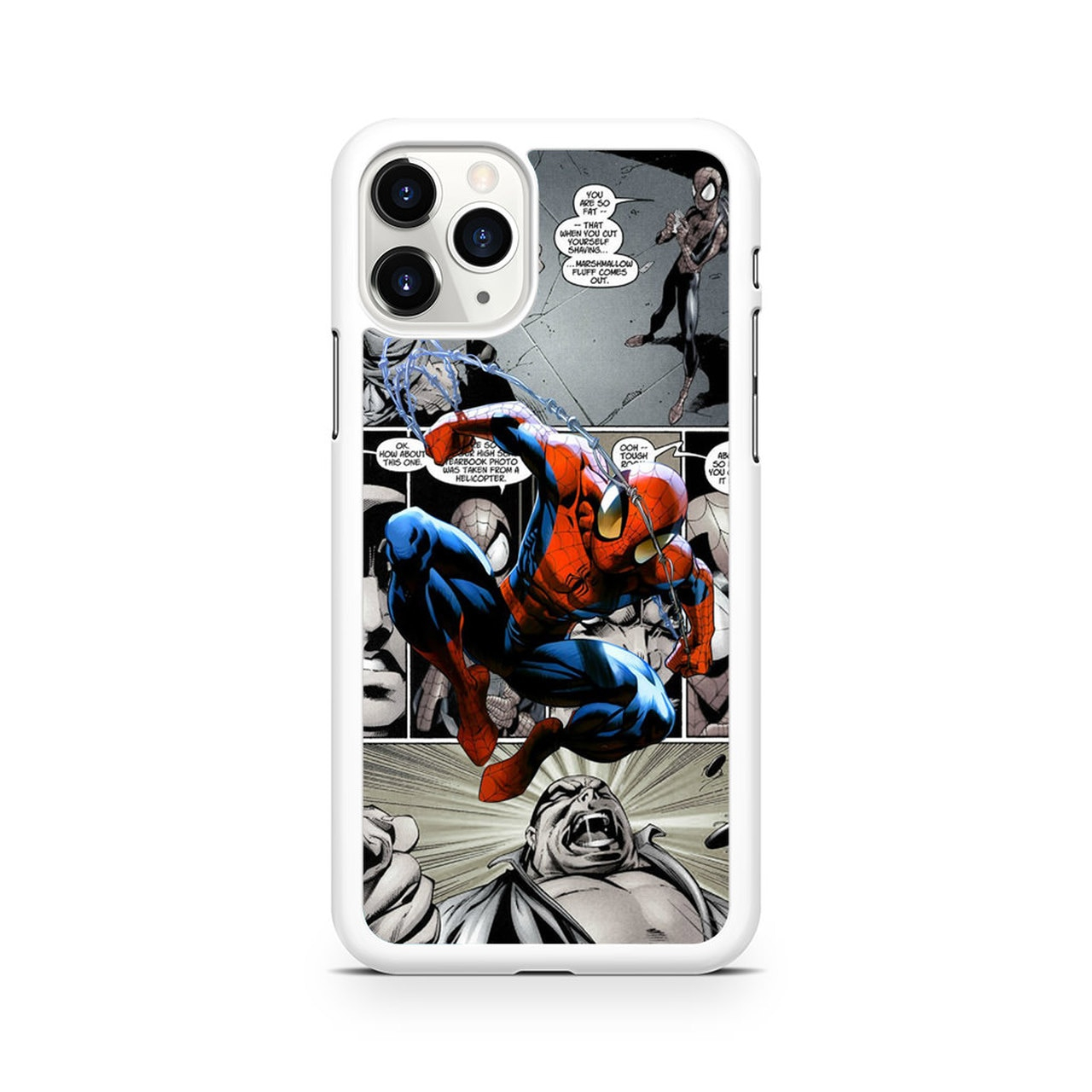 spiderman ics wallpaper iphone 11 pro max case