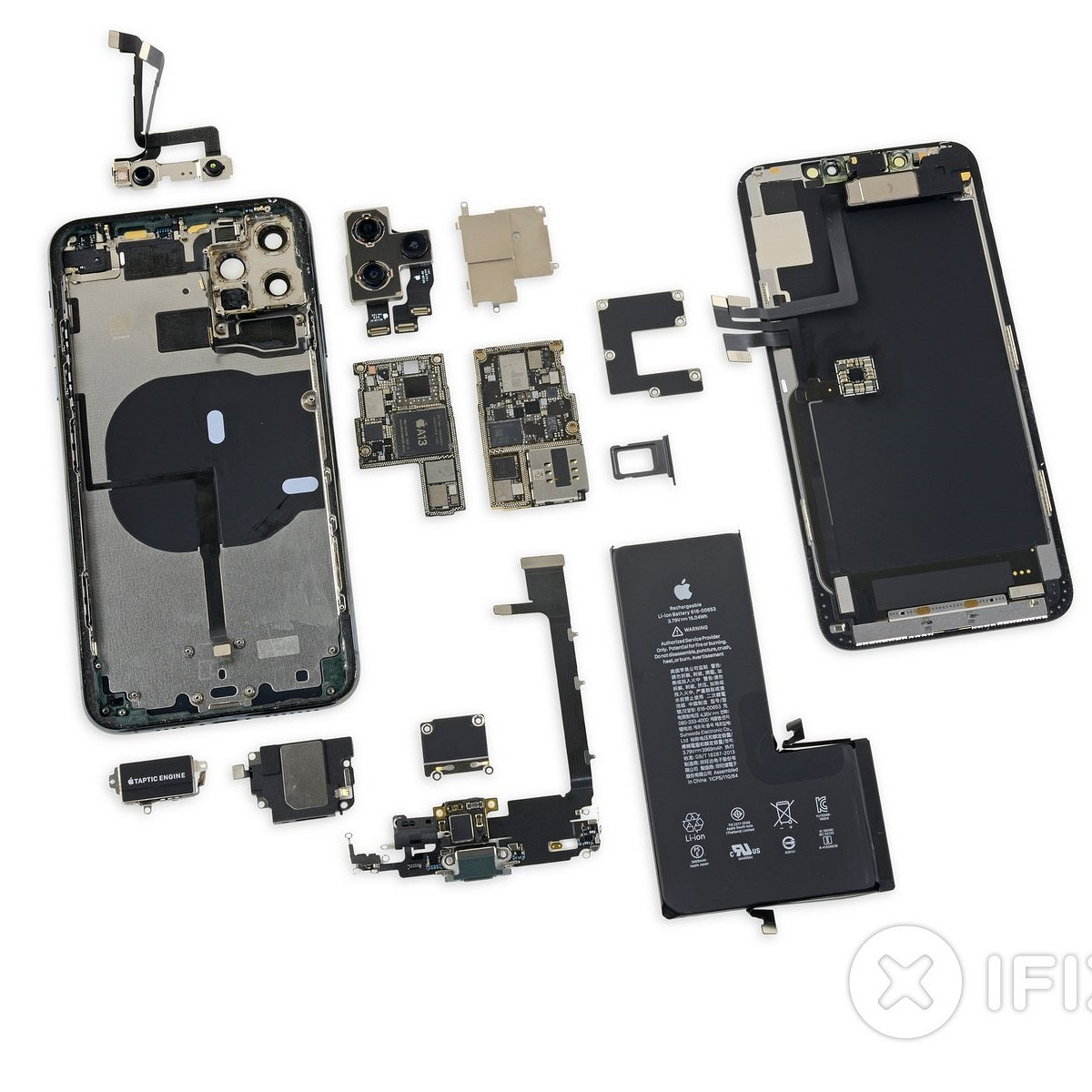 the iphone 11 pro max s the teardown treatment from ifixit