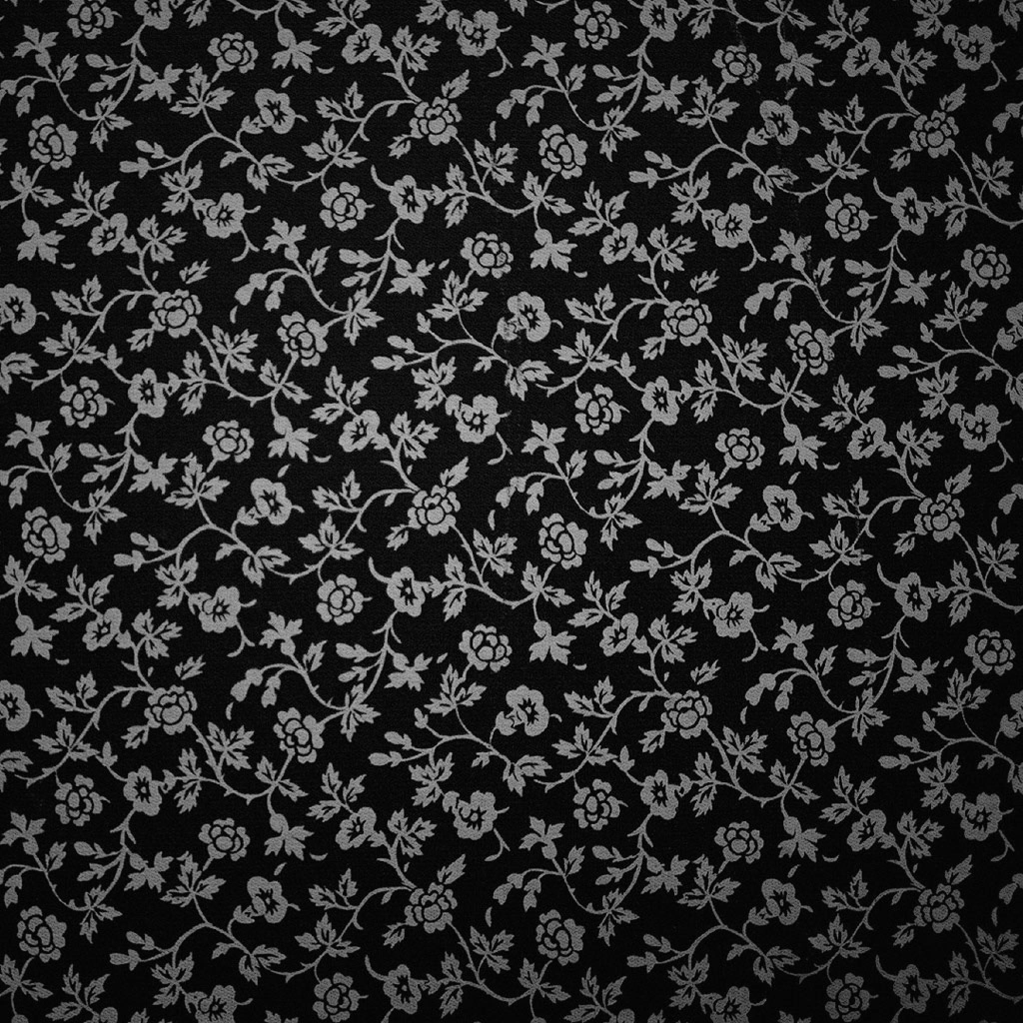 Black And White Flowers Wallpaper