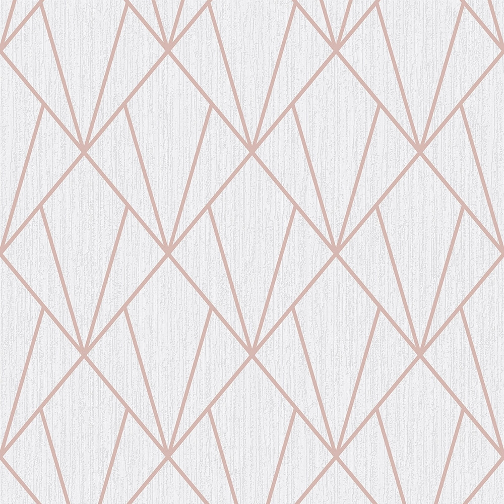 indra geometric glitter wallpaper rose gold p6035 image