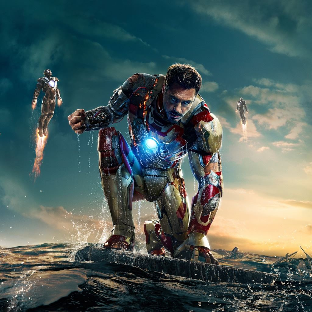 Iron Man 3 New ipad wallpaper ilikewallpaper
