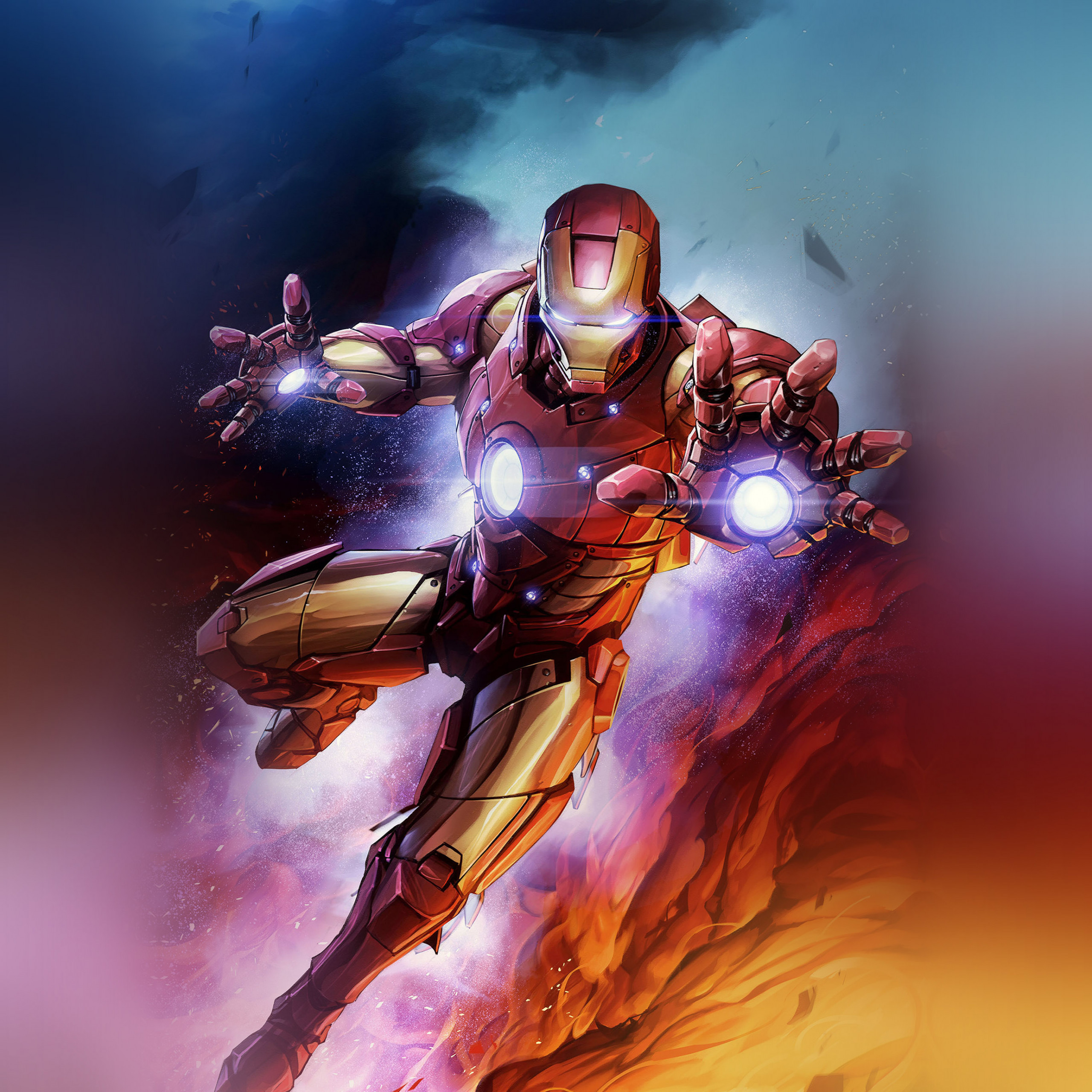 bh56 ironman hero marvel art