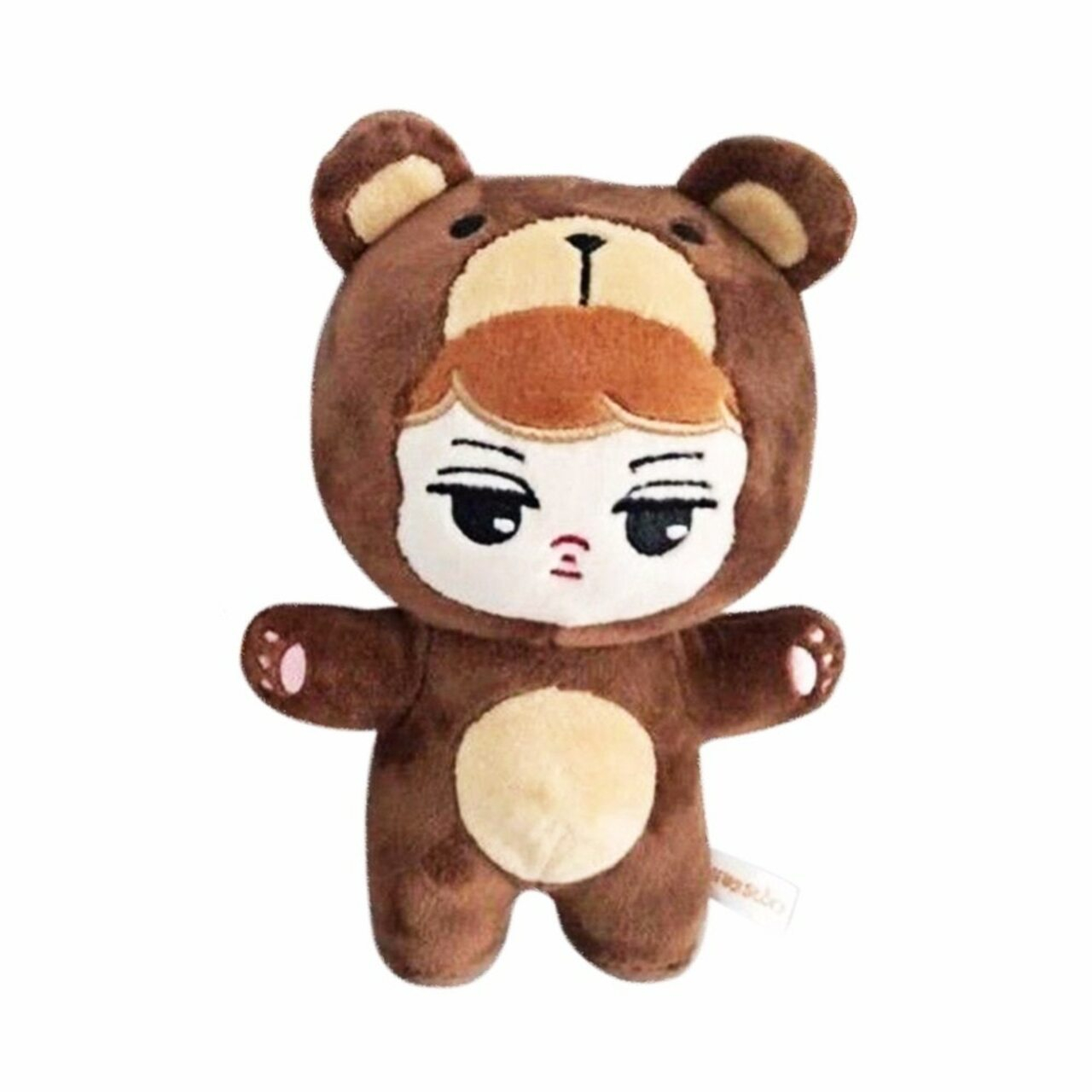 SGDOLL KPOP EXO Animal Plush Toy Soft Stuffed Doll Handmade KAI SEHUN CHEN BAEKHYUN DO LAY c=2