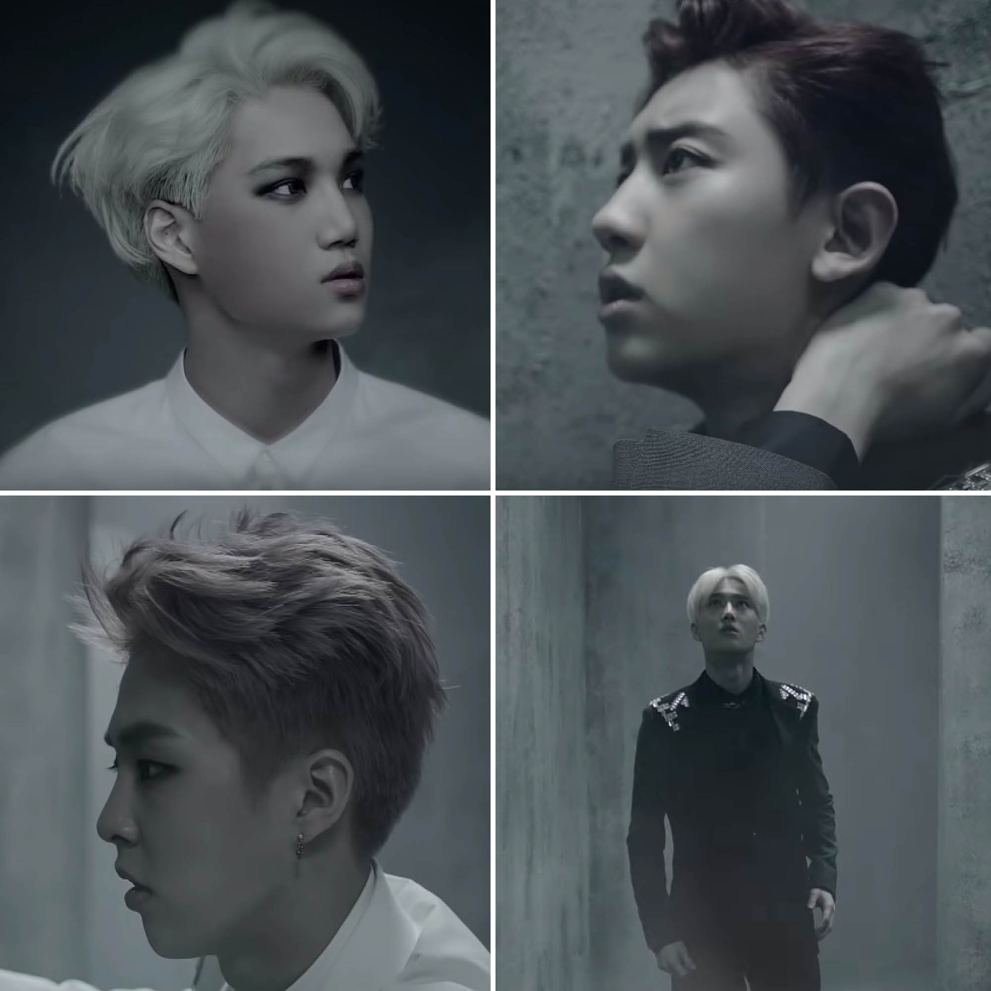 EXO overdose beauty moments