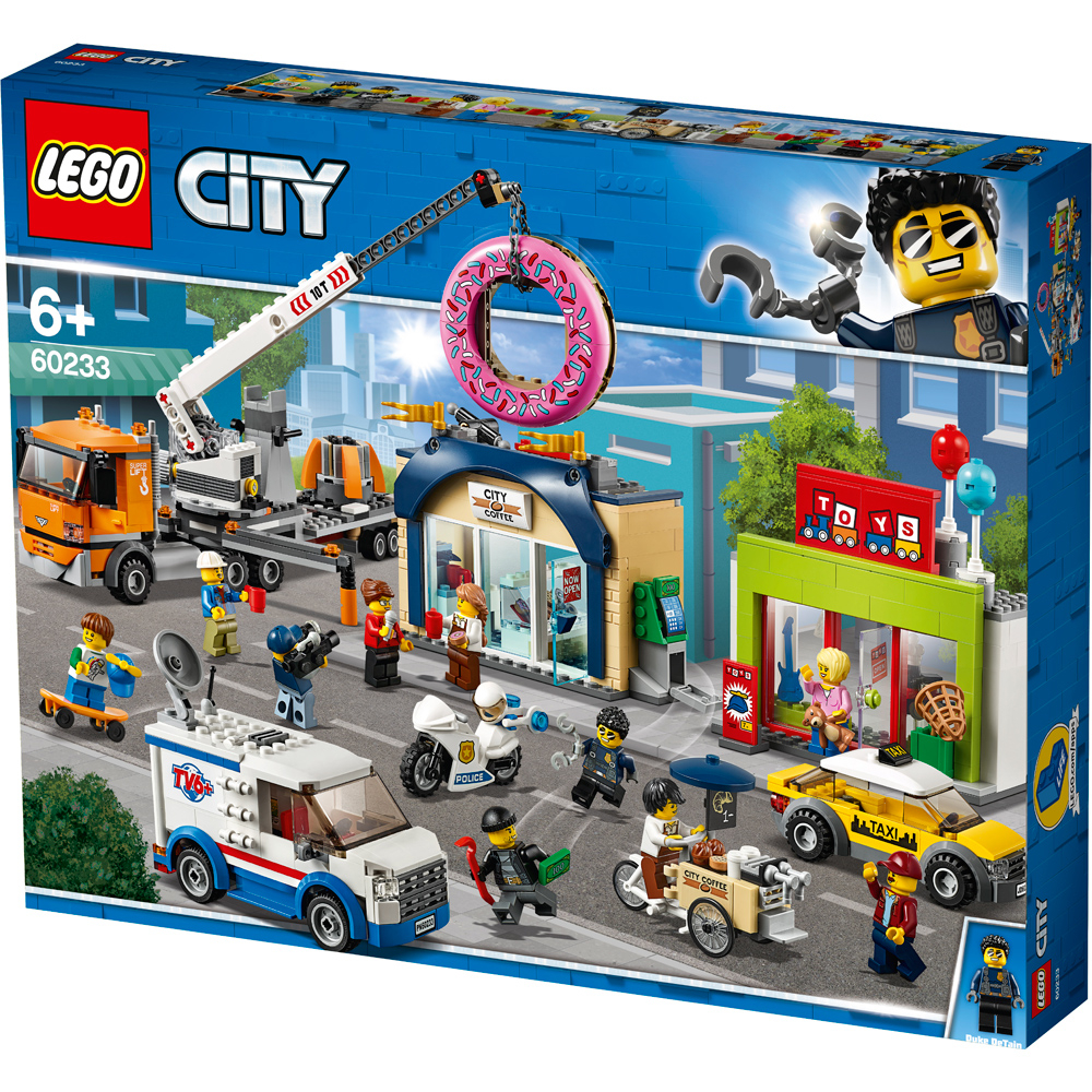 lego city donut shop opening pack