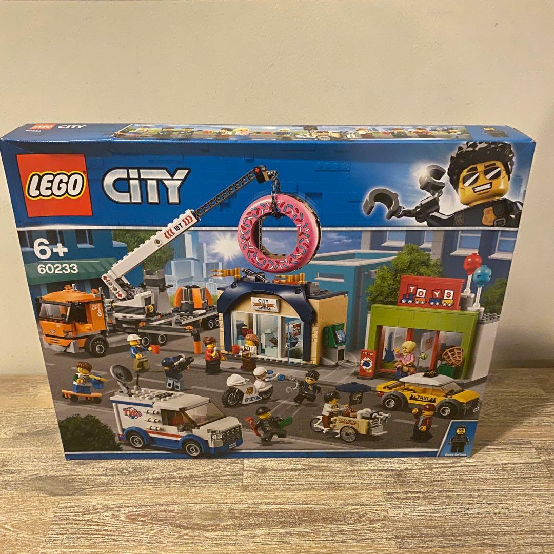 reserved misb lego city donut shop opening 2019