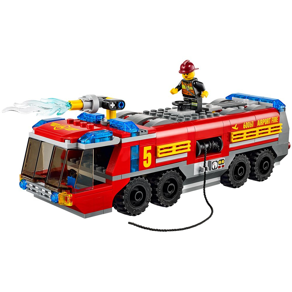 lego city great vehicles airport fire truck