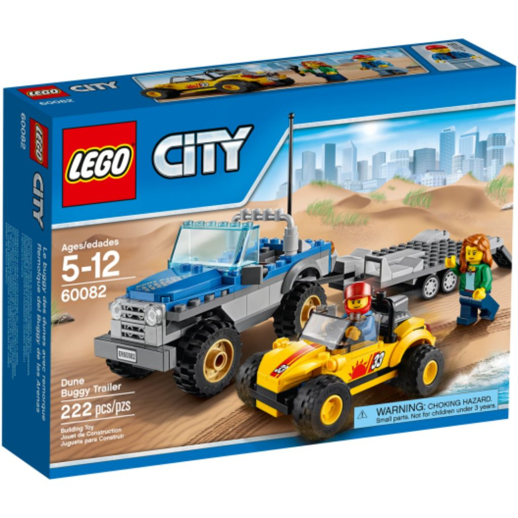 Lego City Dune Buggy Trailer 2015 In Sealed Box Desert Racing Space Mining Park Jungle Fair Fire Police i