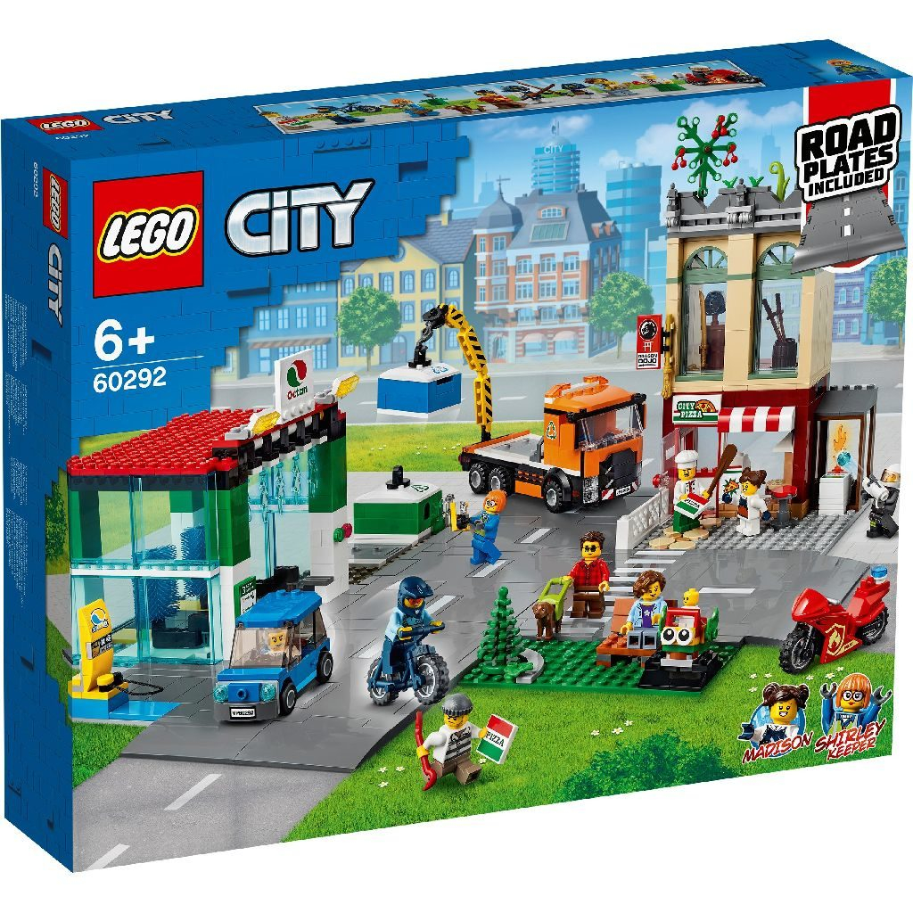 double vip points available on lego city town center
