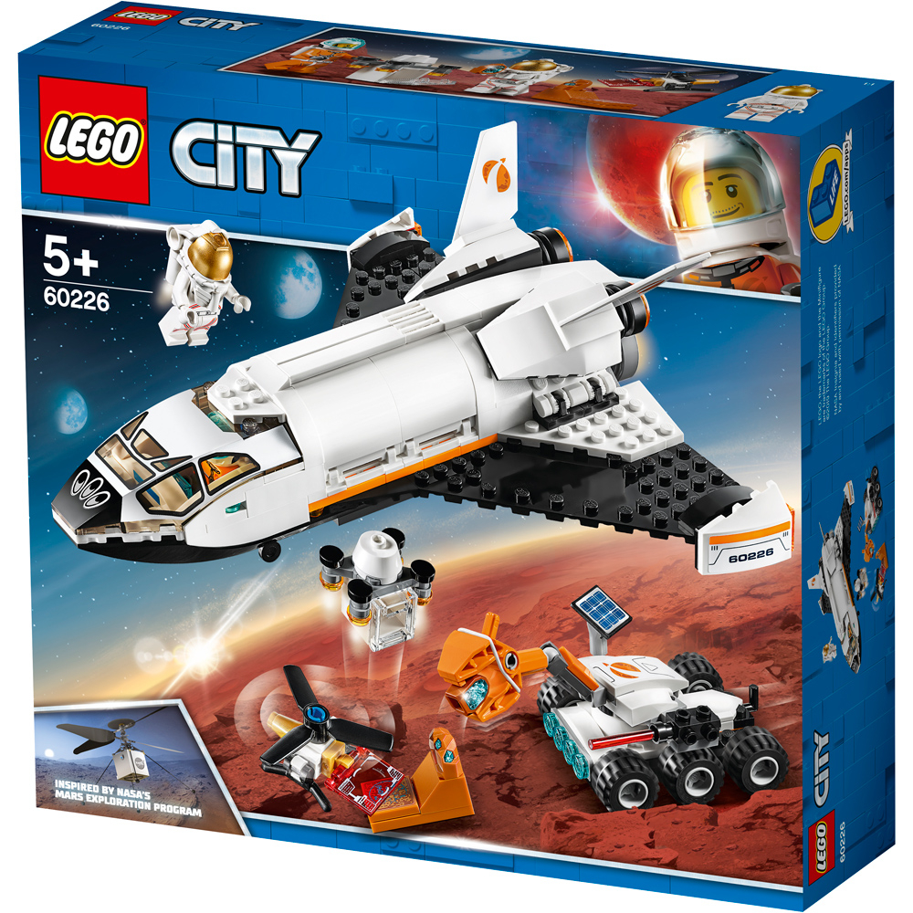 lego city mars research shuttle pack