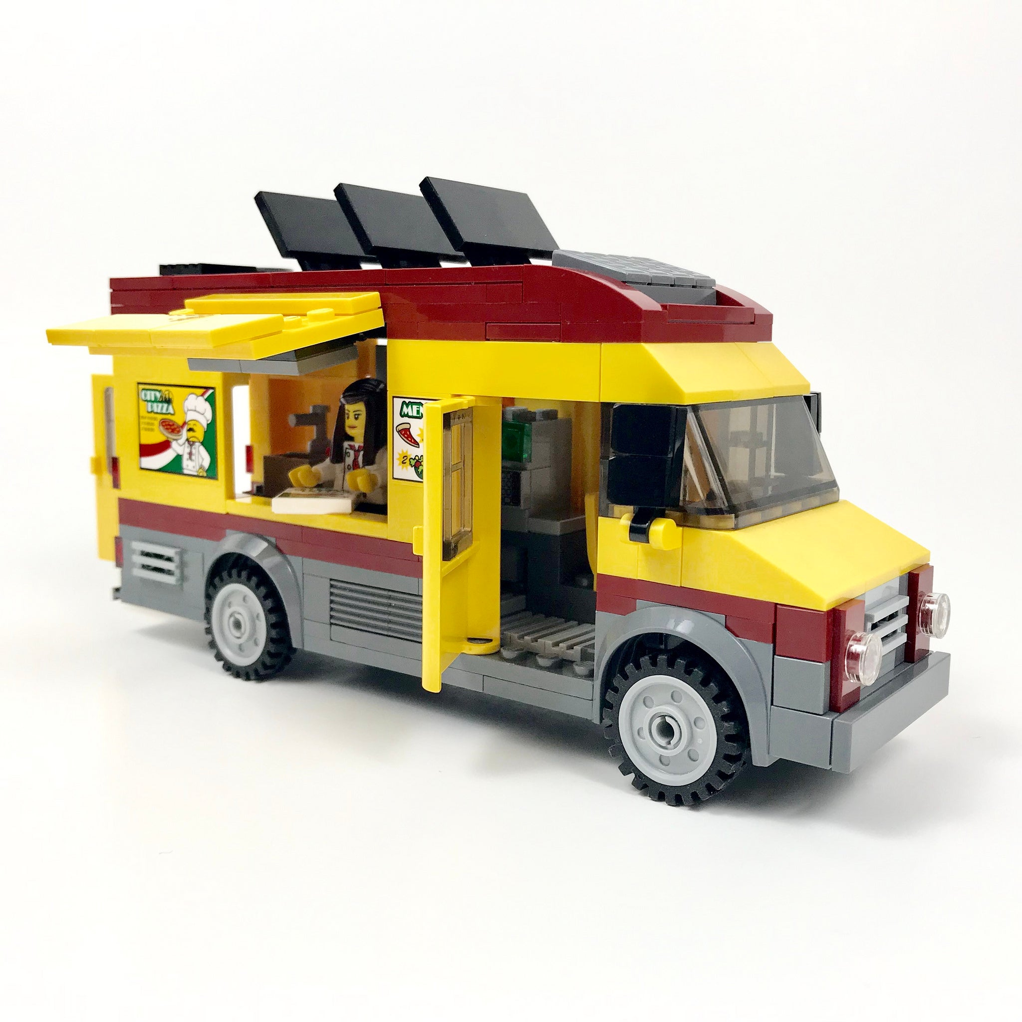 city pizza food truck moc based off