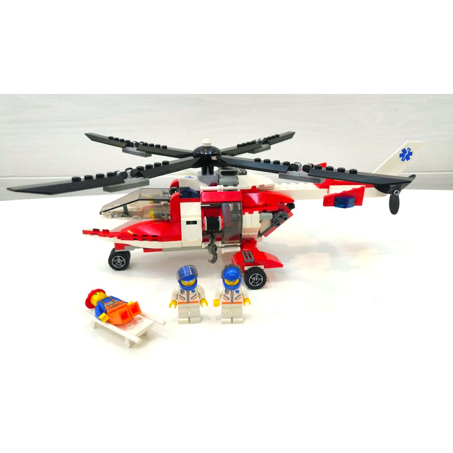 Lego City 7902 Rescue Helicopter 7903 i