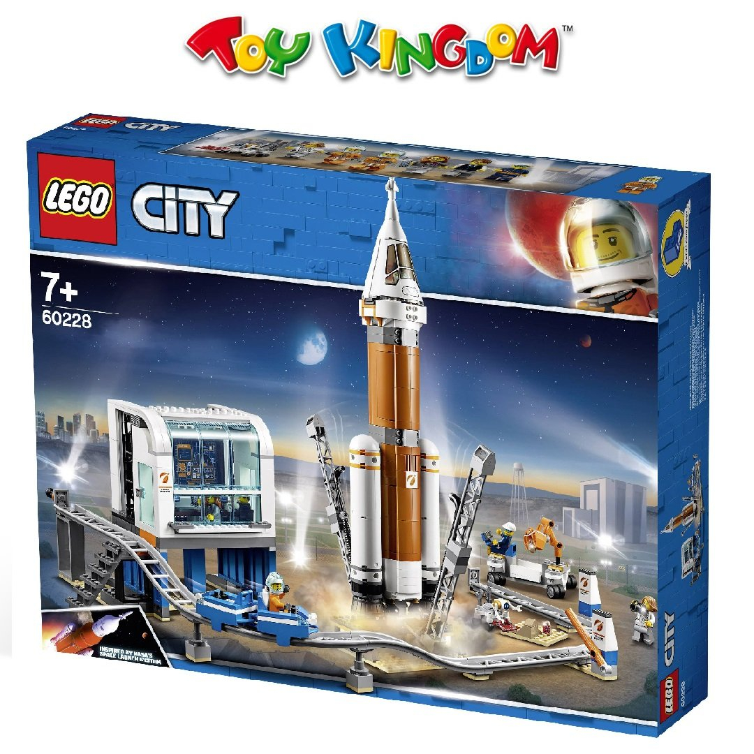 lego r city space deep space rocket and launch control age 7 building blocks 837pcs
