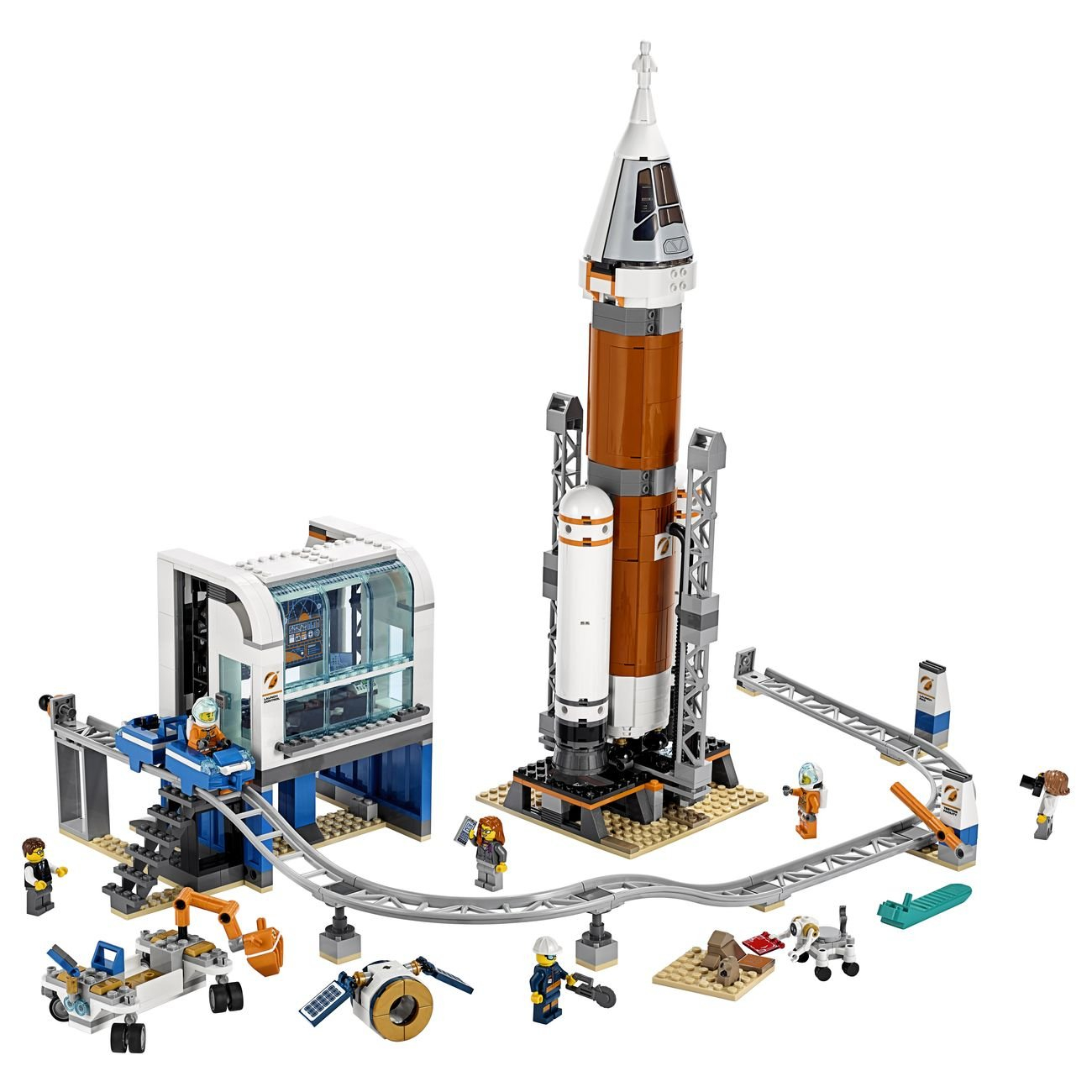 LEGO City Deep Space Rocket and Launch Control 5