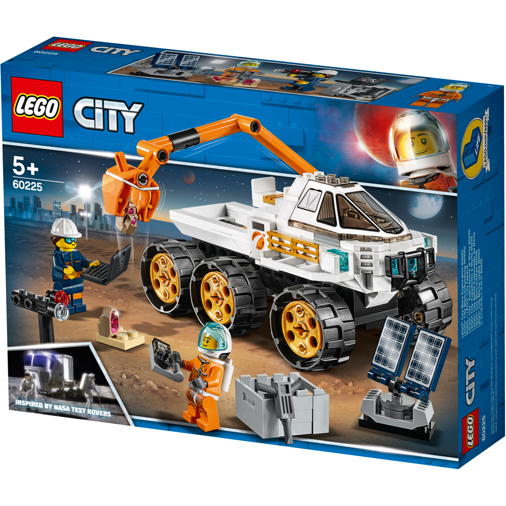 lego city rover testing drive pack
