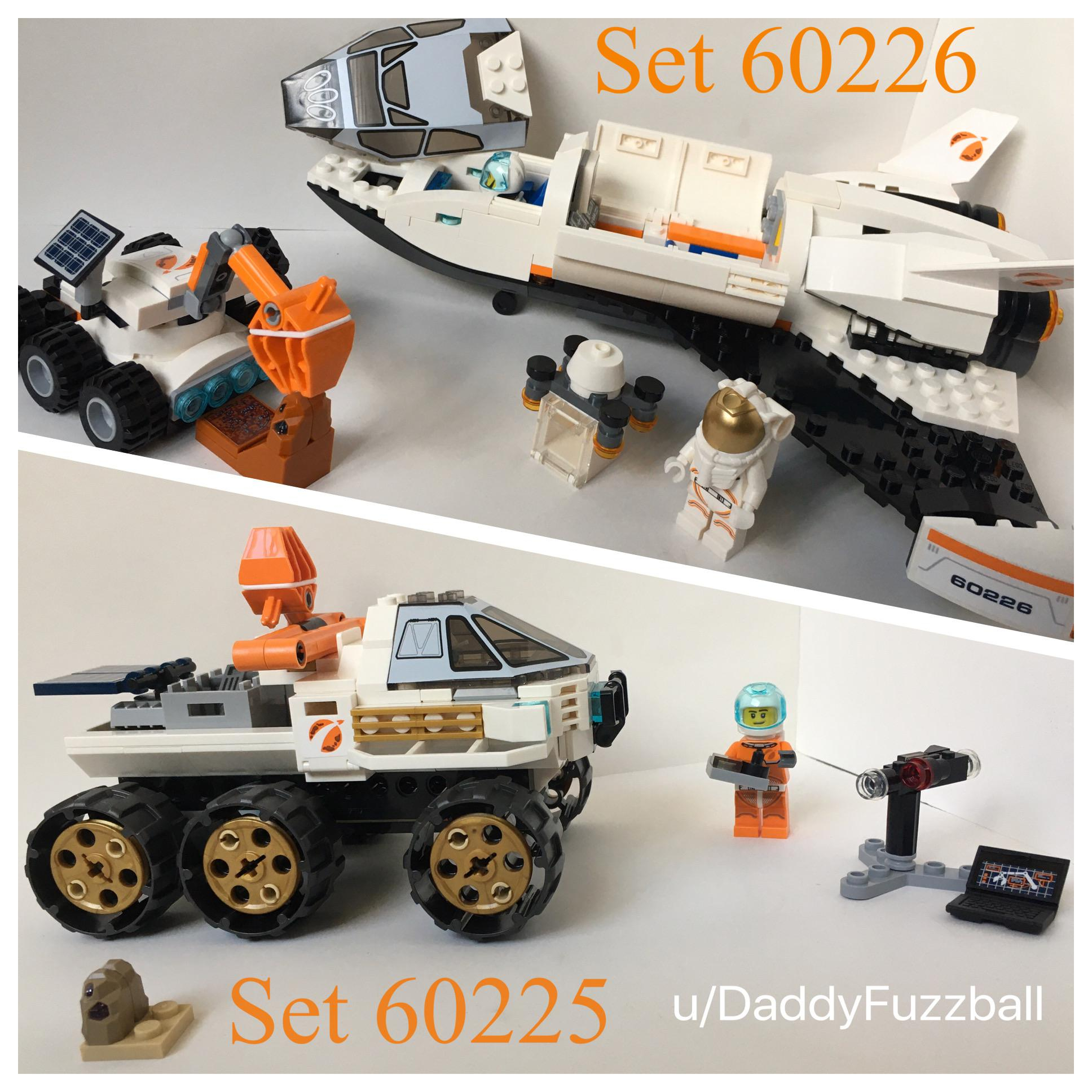 lego city space collection ive definitely been