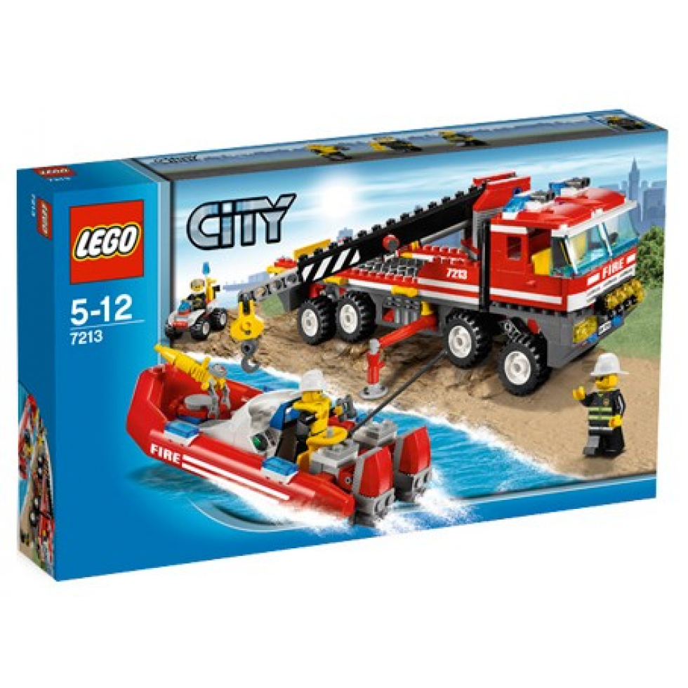lego city off road fire truck and fireboat 2010 p1154