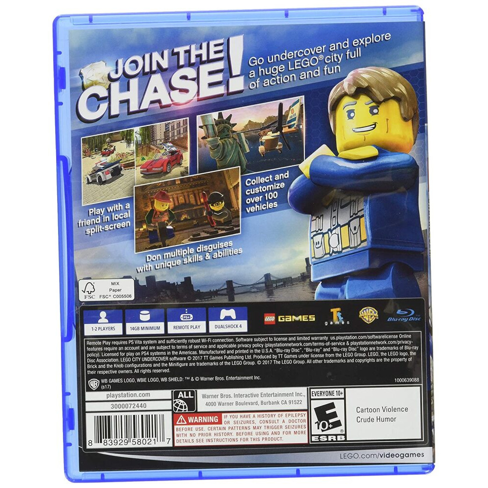 lego city undercover ps4 cd original sealed cd free delivery o ref=similar