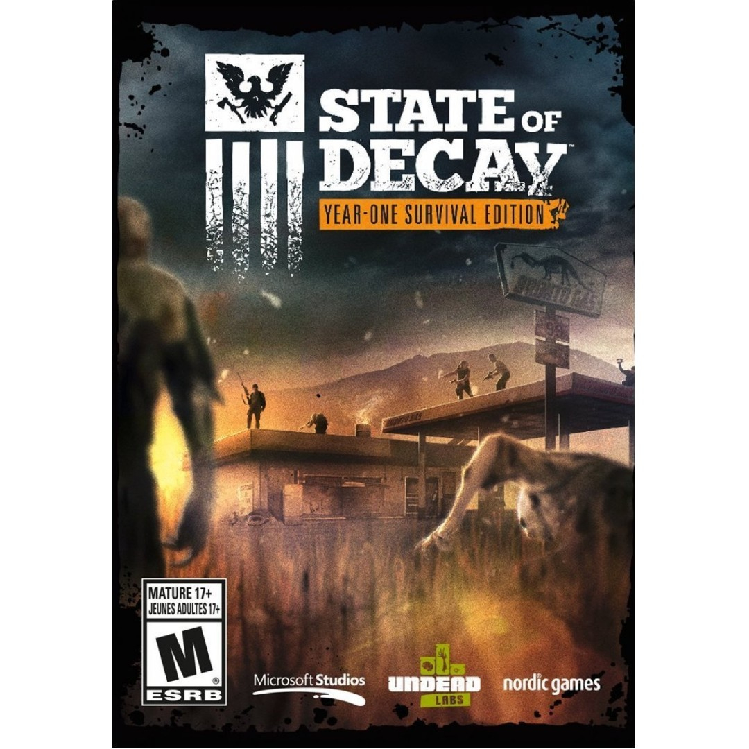 pc state of decay yearone survival edition digital code f0e18a580