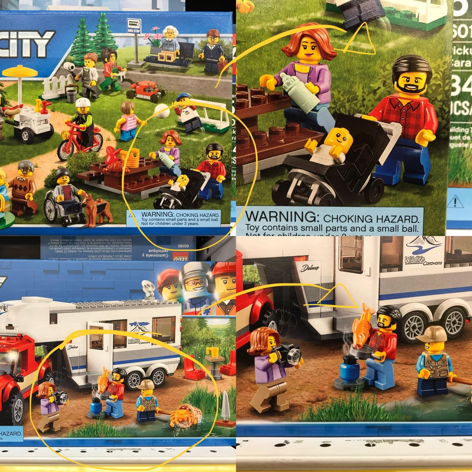 theres a subtle story happening on lego city boxes