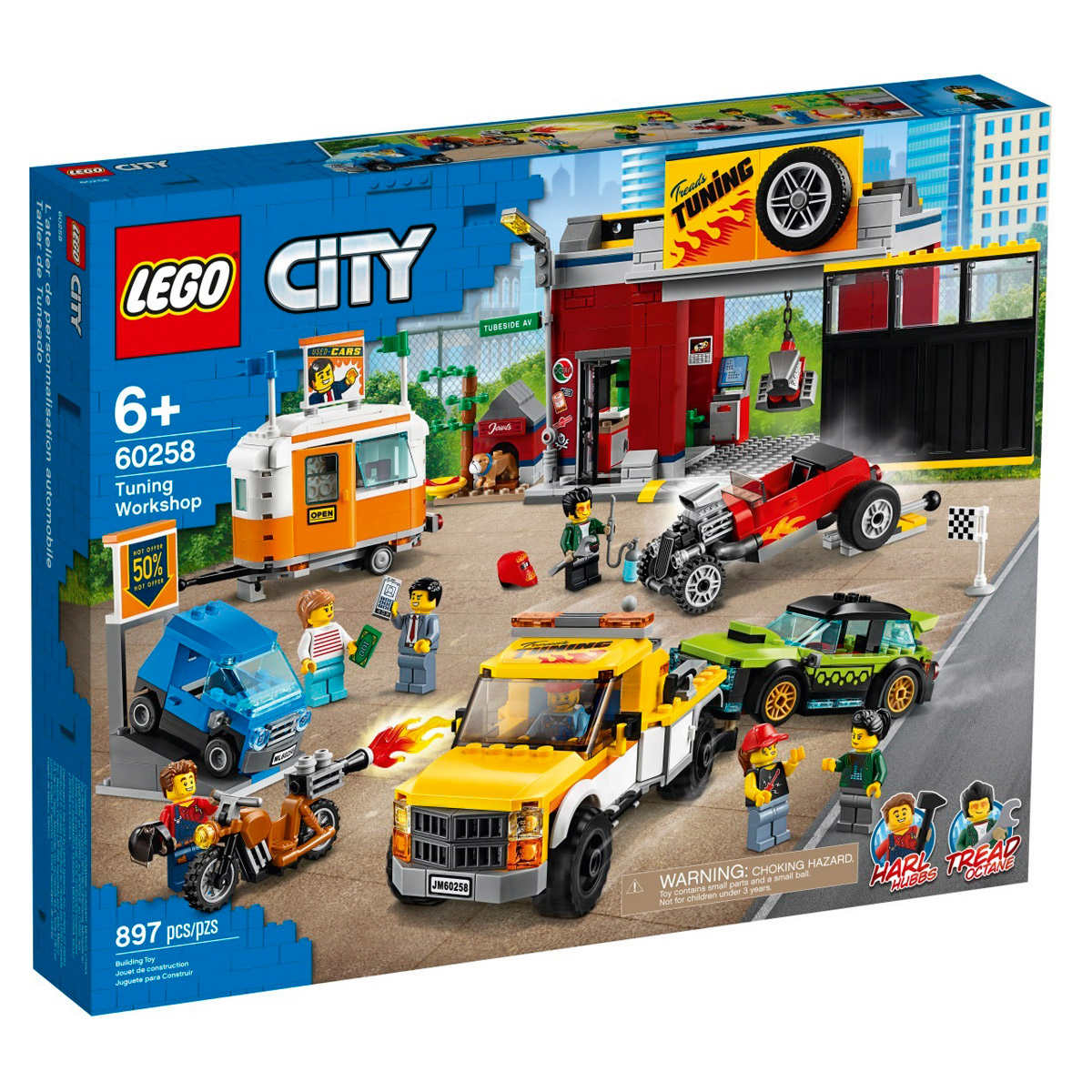 lego city tuning workshop – oduct