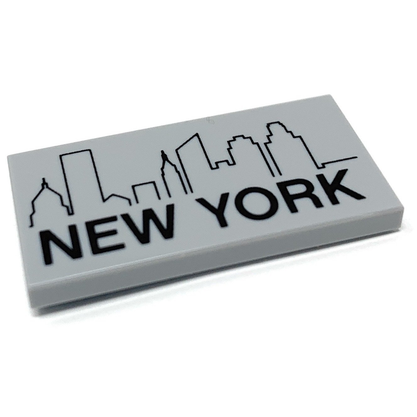 new york city with skyline official lego® part