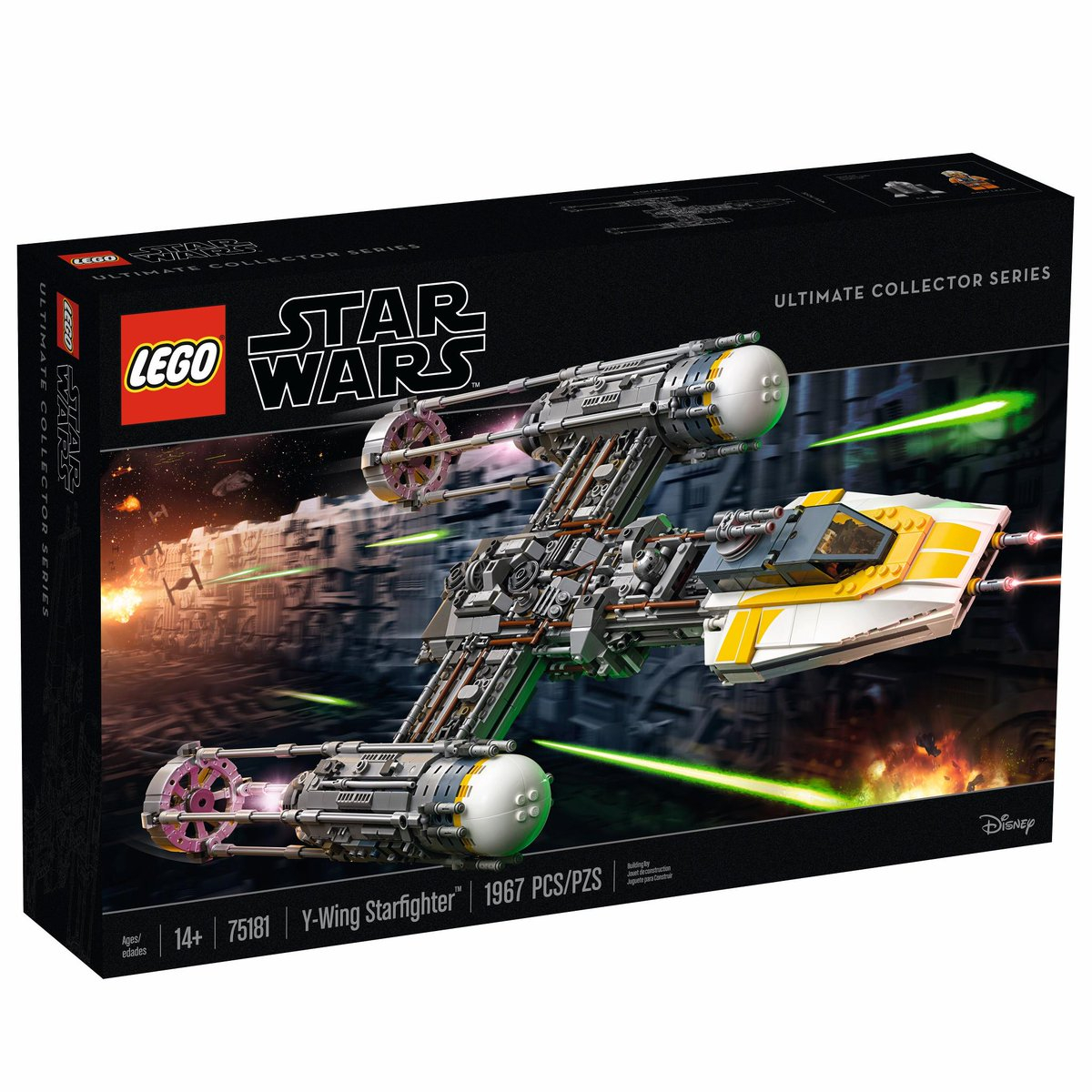 lego officially unveils the ucs y wing starfighter
